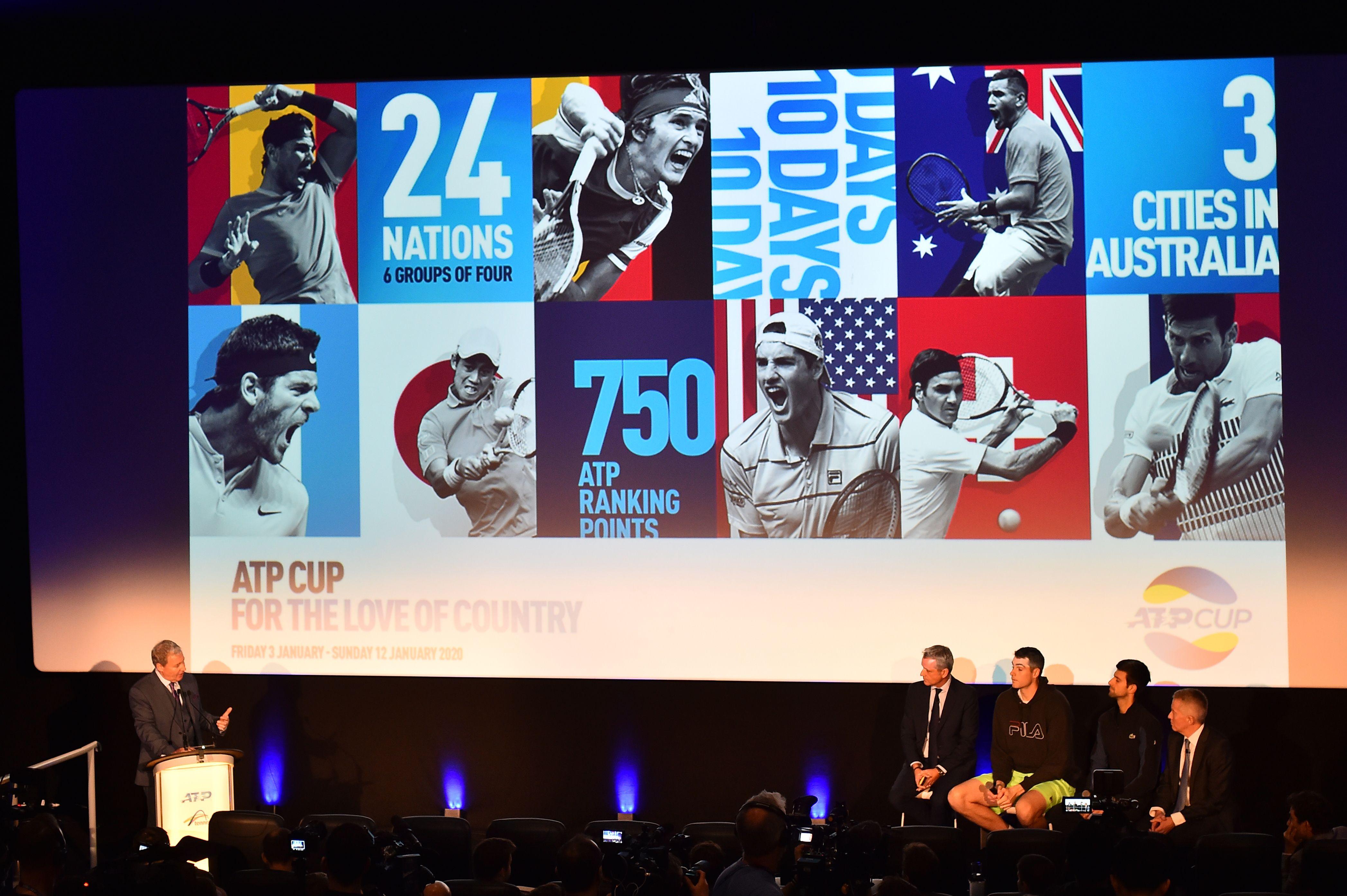 Tennis - ATP - L'ATP Cup peut faire peur à la Coupe Davis