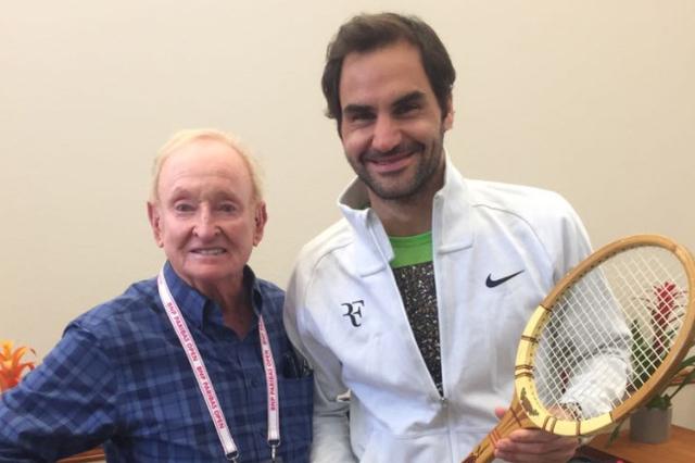 Tennis - ATP - Le bel hommage de Rod Laver à Roger Federer