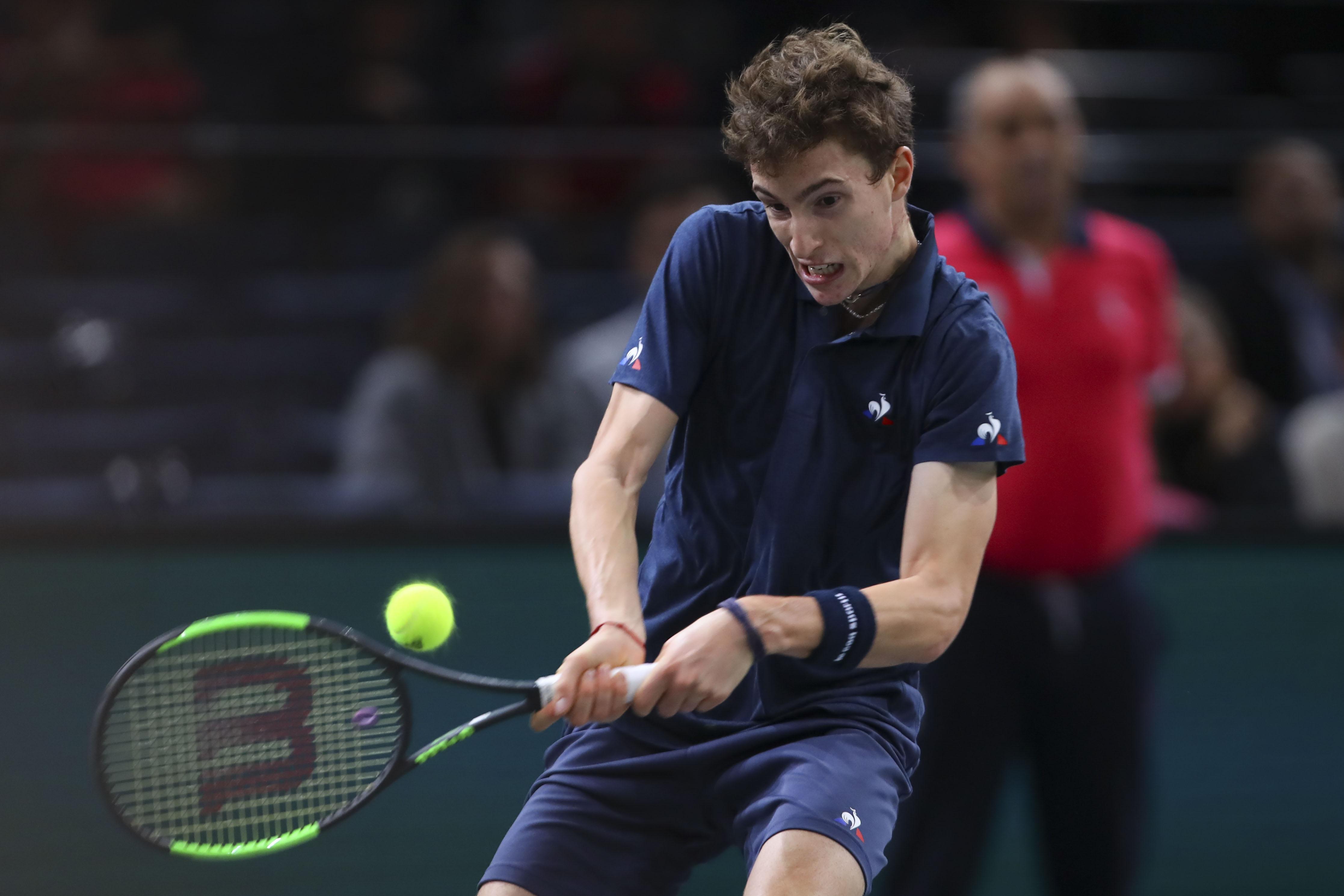 Tennis - ATP - Le jeune Ugo Humbert frappe fort à Marseille