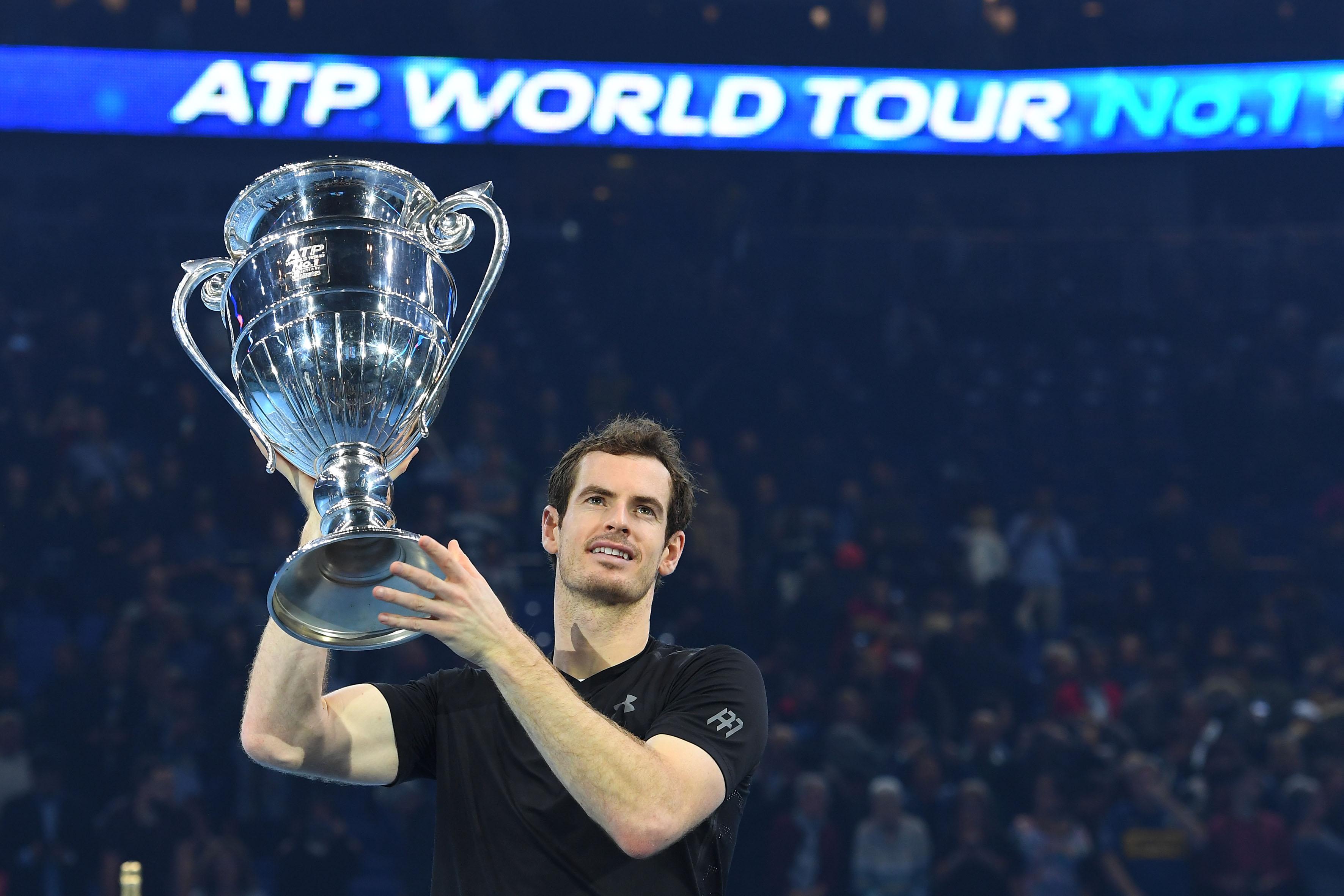 Tennis : ATP - Le patron des courts en 2016, c?est bien Andy Murray