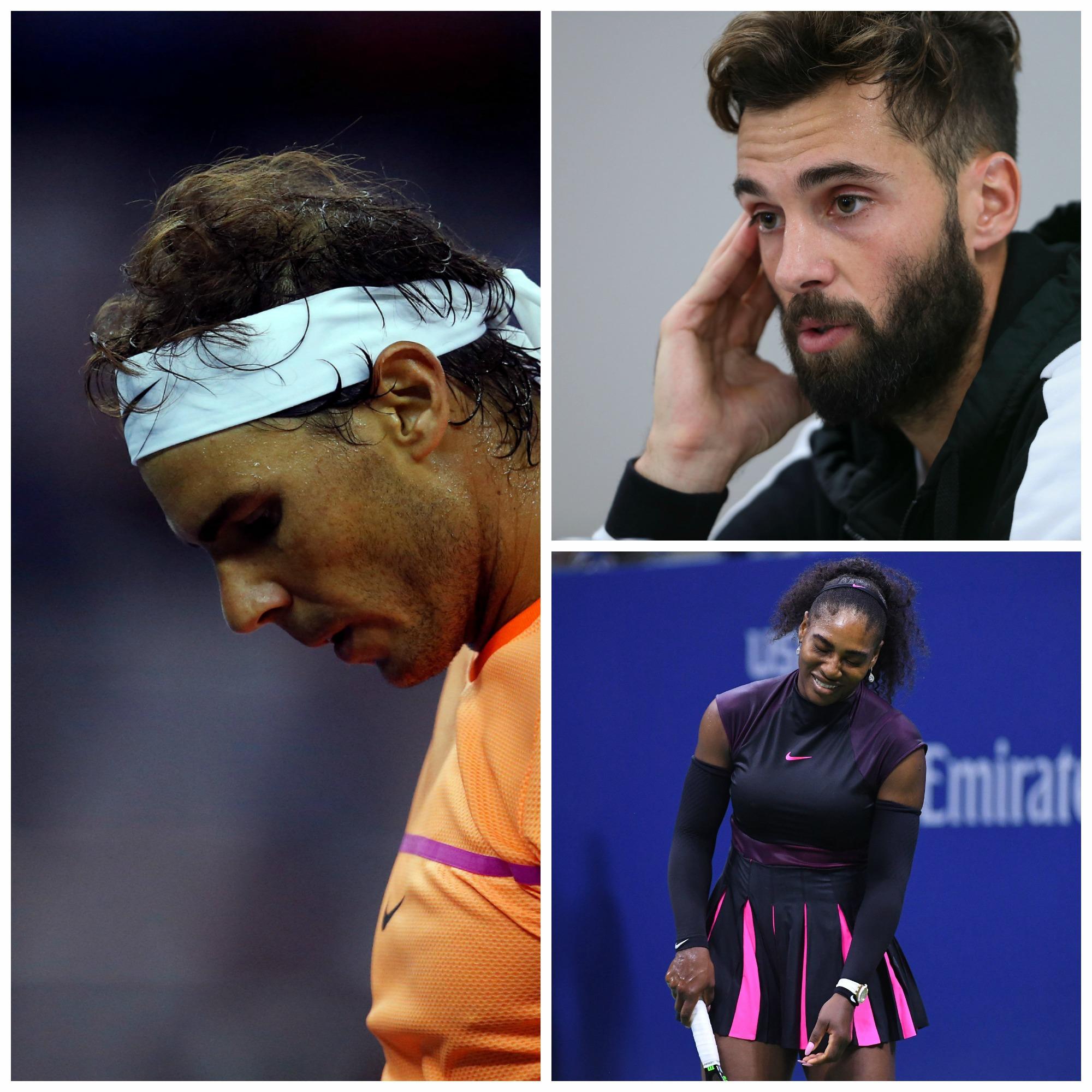 Tennis : ATP - </b>Nadal, Bleus, Serena : </b>les flops de 2016