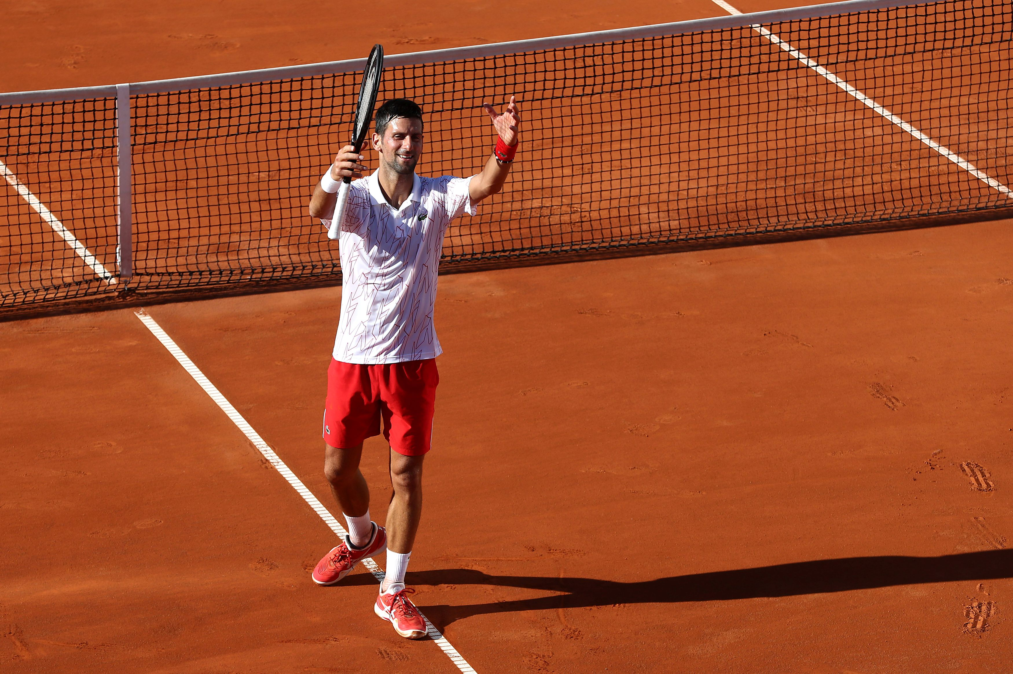 Tennis - ATP - Les larmes de Novak Djokovic à Belgrade