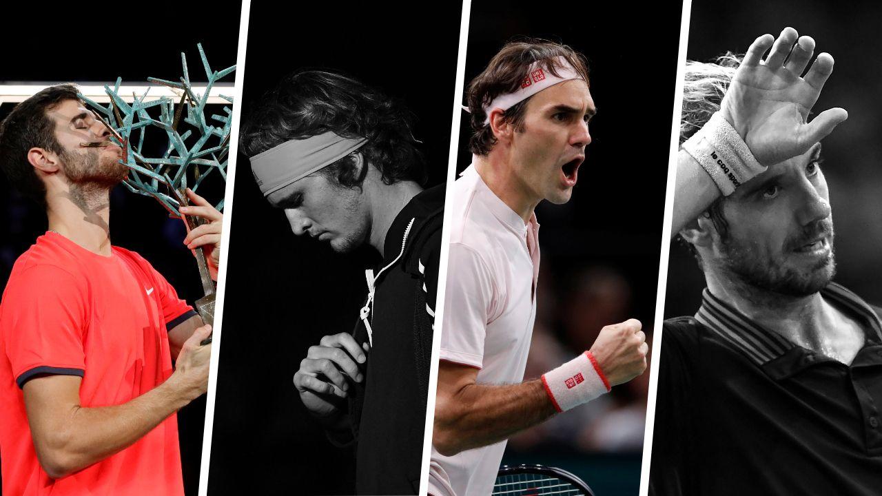 Tennis - ATP - Les Tops et les Flops du Rolex Paris Masters