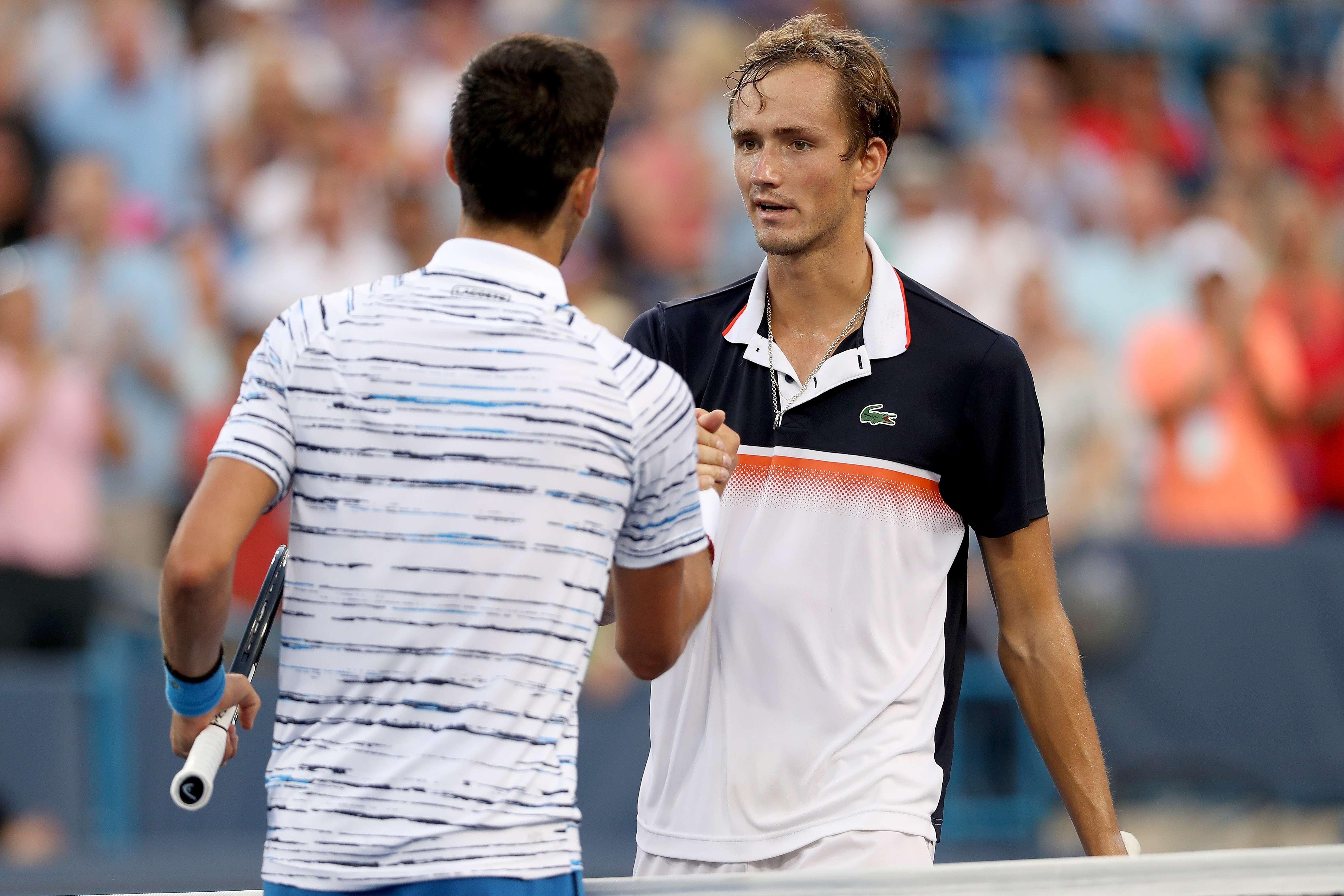 Tennis - ATP - Magistral à Cincinnati, Medvedev renverse Djokovic