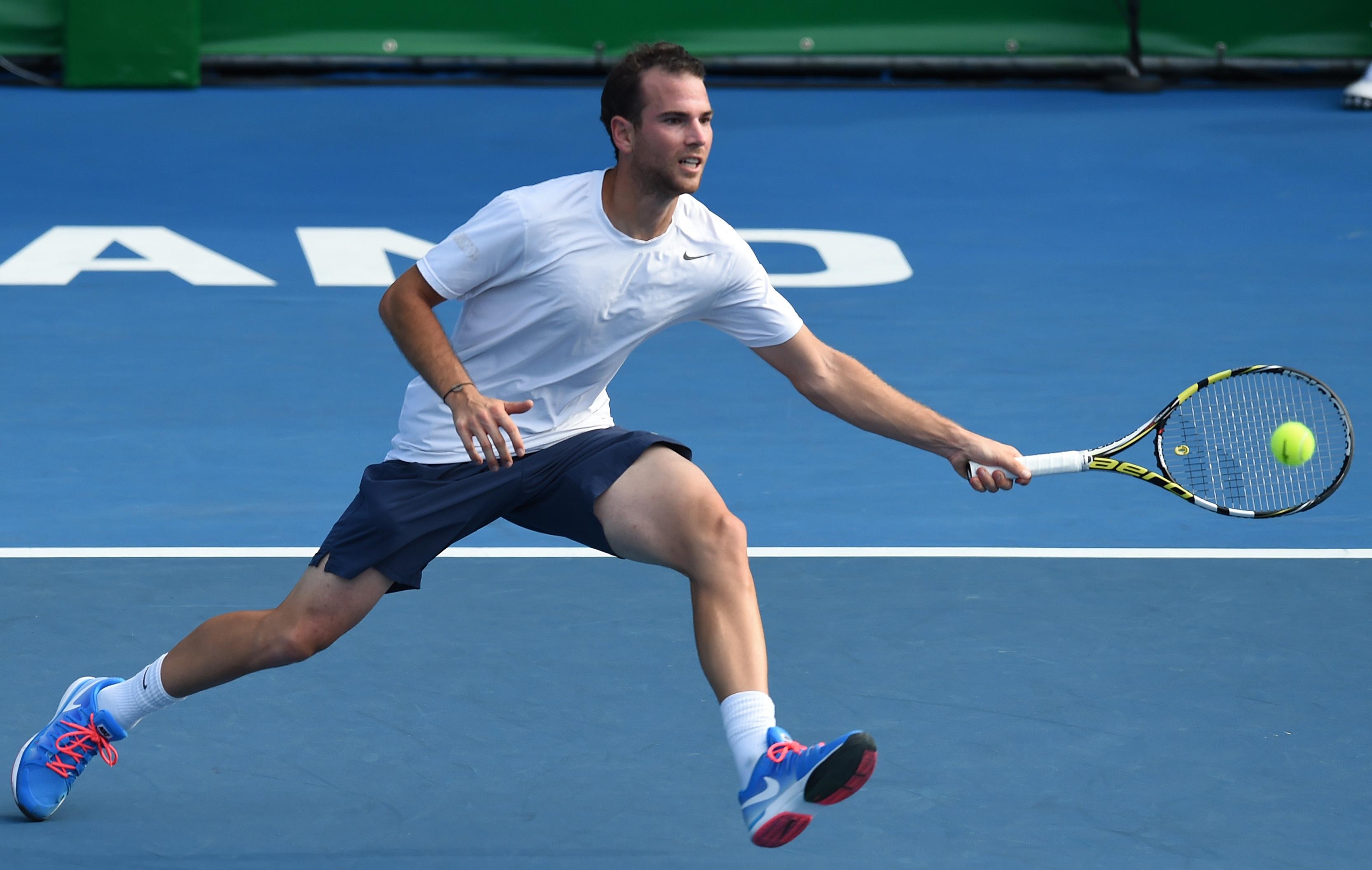 Tennis : ATP - </b>Mannarino balay&#233; en finale par Vesely