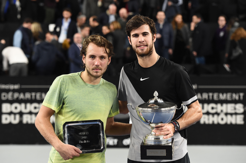 Tennis - ATP - Marseille : Khachanov prive Pouille d'un doublé dans le Sud