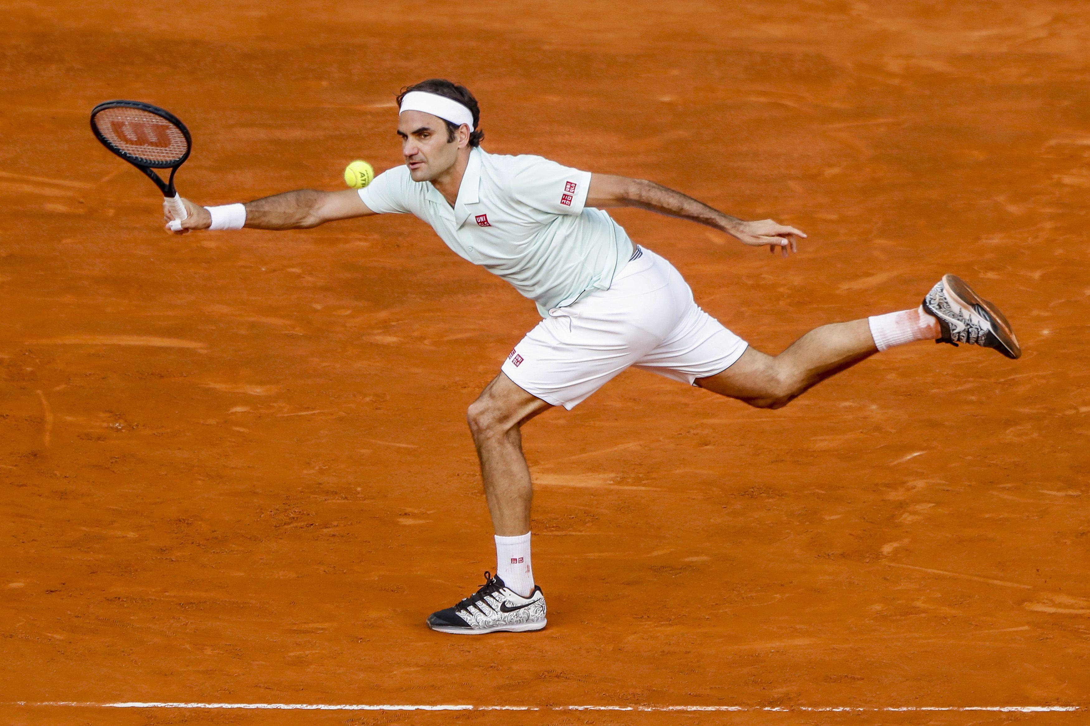 Tennis - ATP - Masters 1000 de Rome : Federer-Sousa en direct