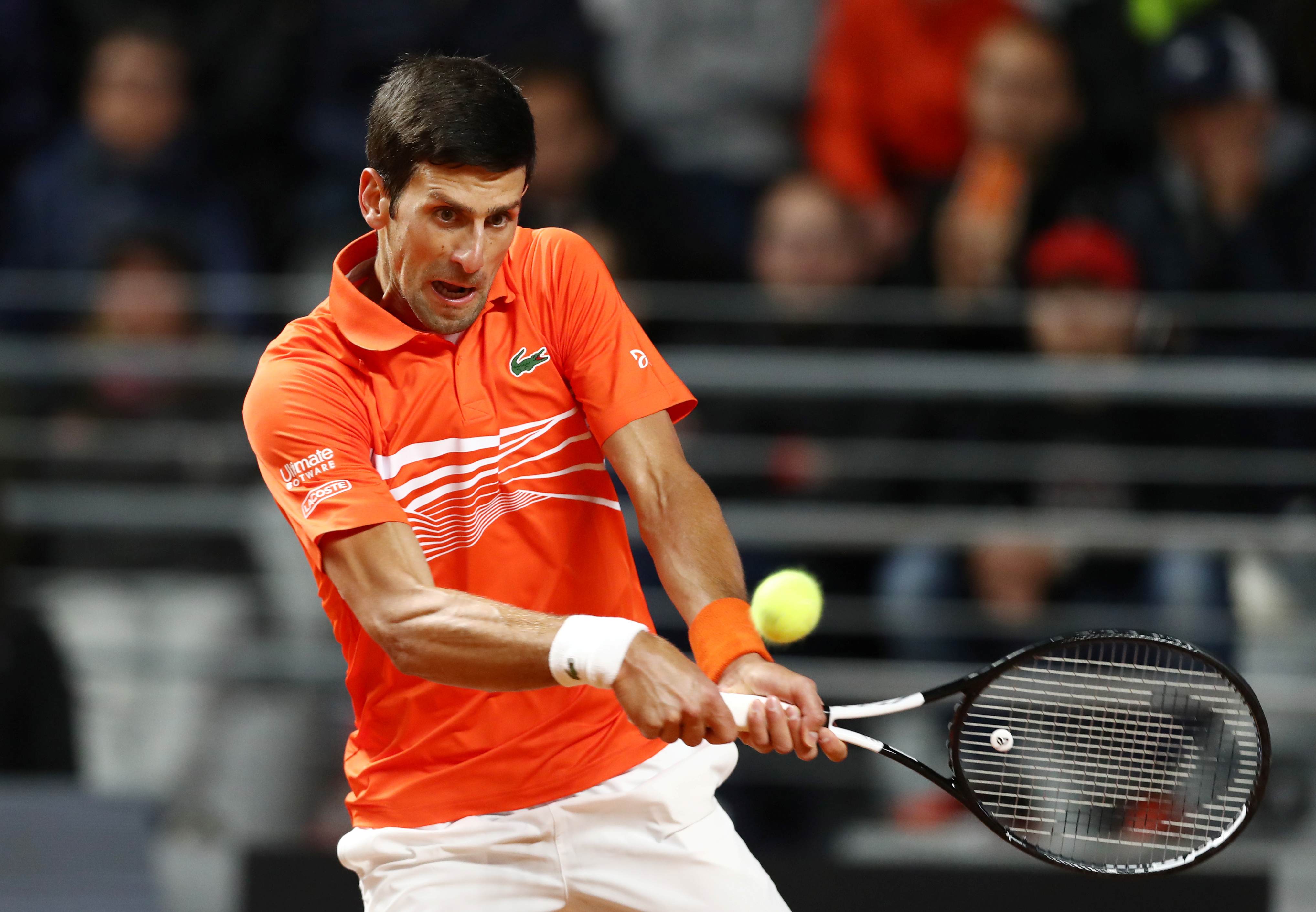 Tennis - ATP - Masters 1000 de Rome : la demi-finale Djokovic-Schwartzman en direct