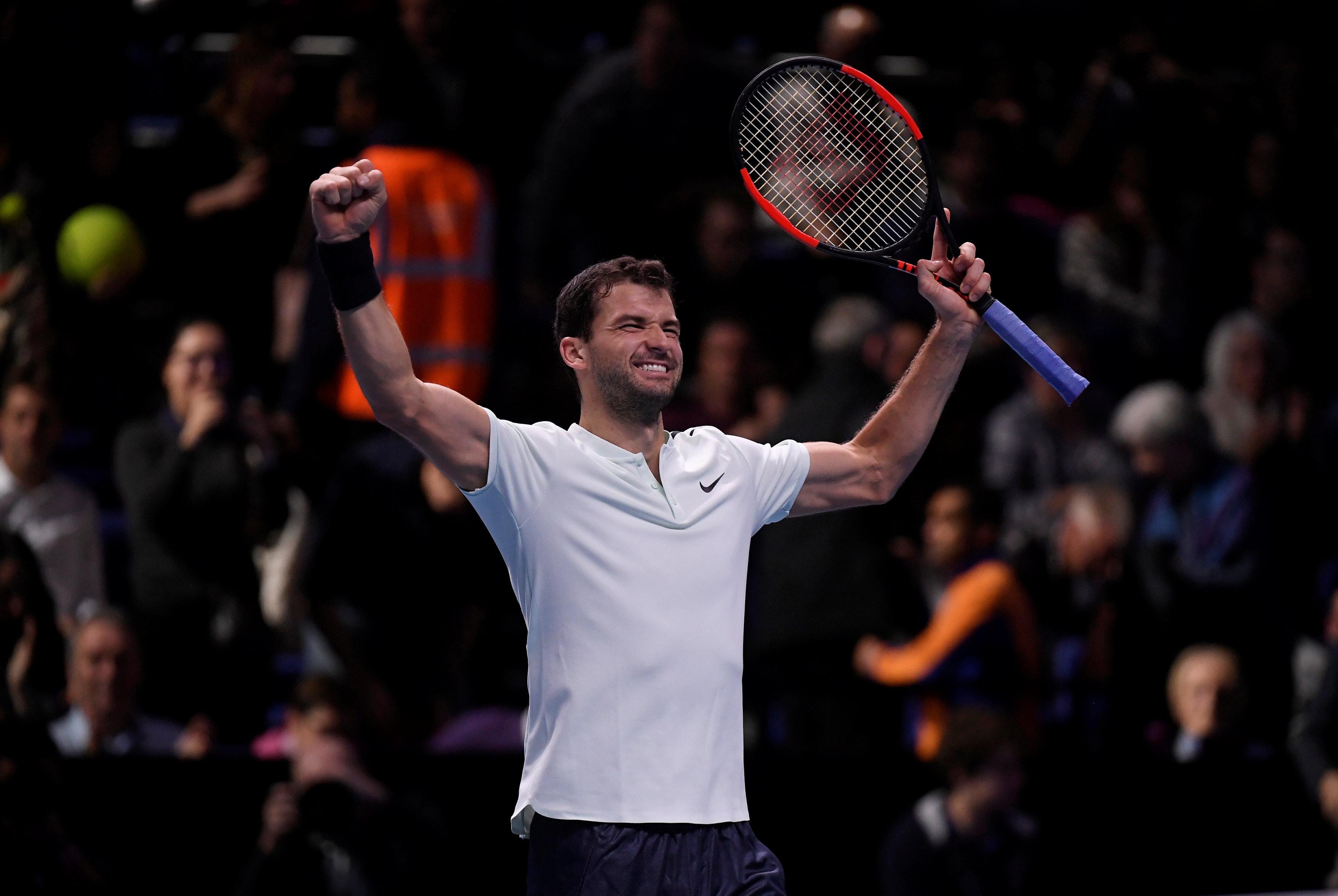 Tennis : ATP - Masters : Dimitrov, le troisième homme