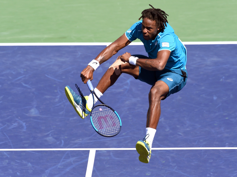 Tennis - ATP - Indian Wells : Monfils en a plein le dos, Herbert en profite