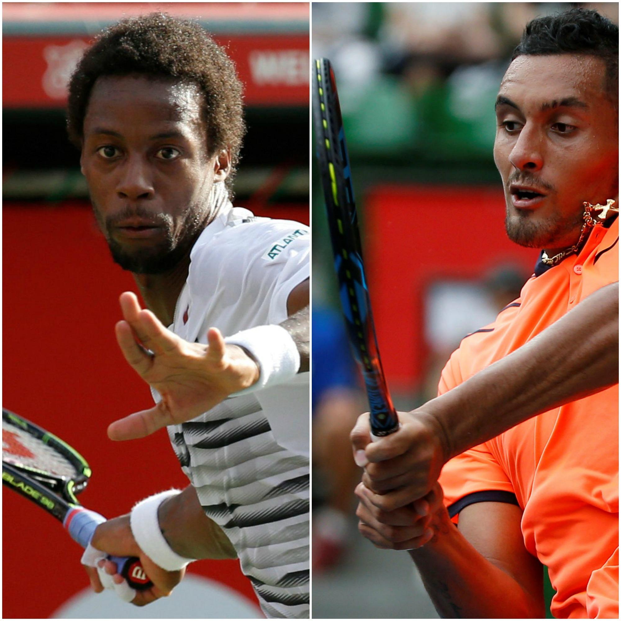 Tennis - ATP - Monfils-Kyrgios, ressemblances et différences