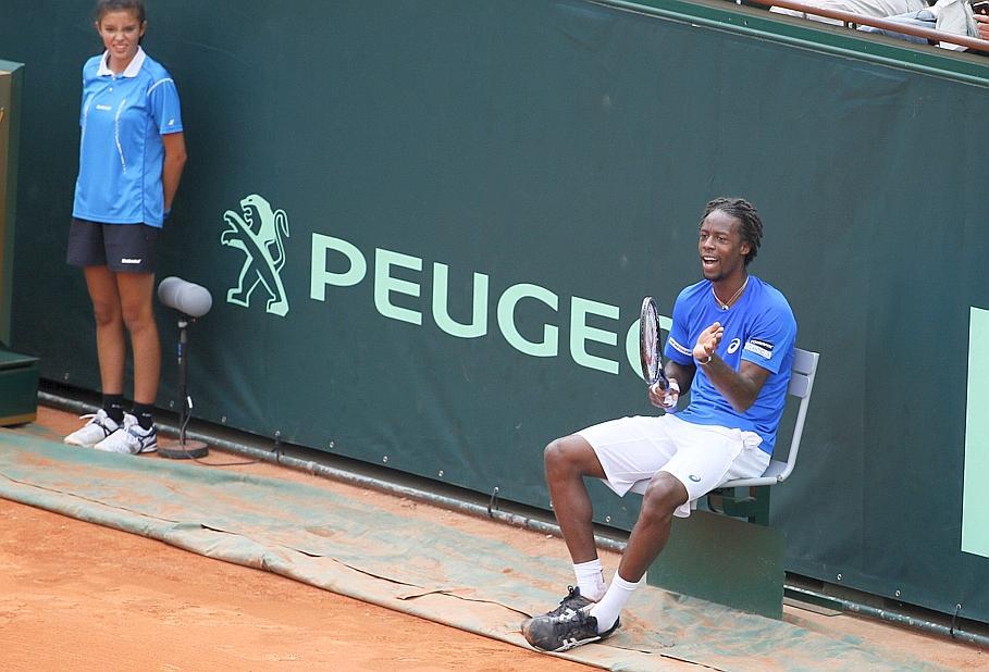 Tennis : ATP - Monfils, la parenth�se qui tombe mal