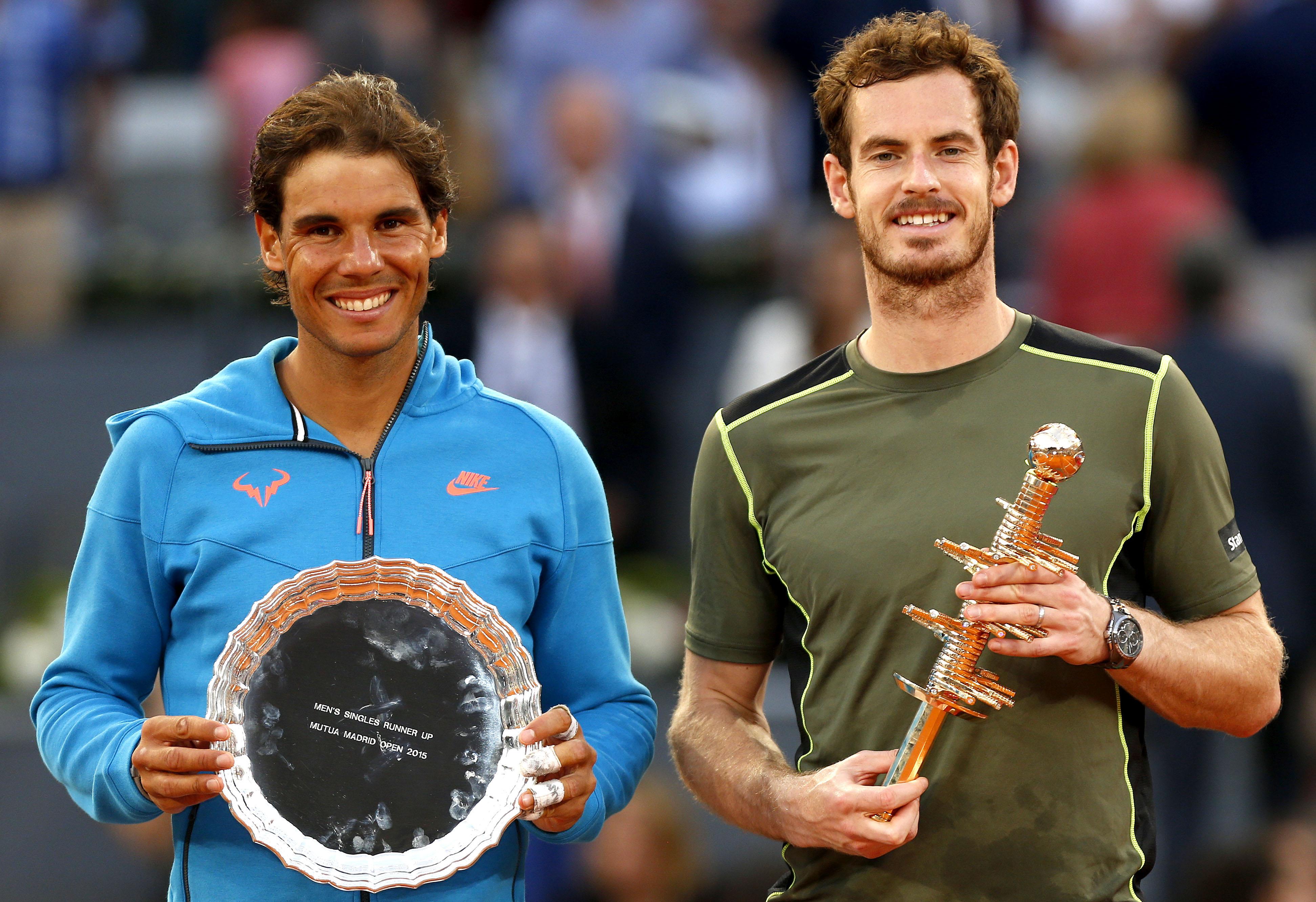 Tennis - ATP - Murray: �Nadal reste l?un des favoris � Roland-Garros�