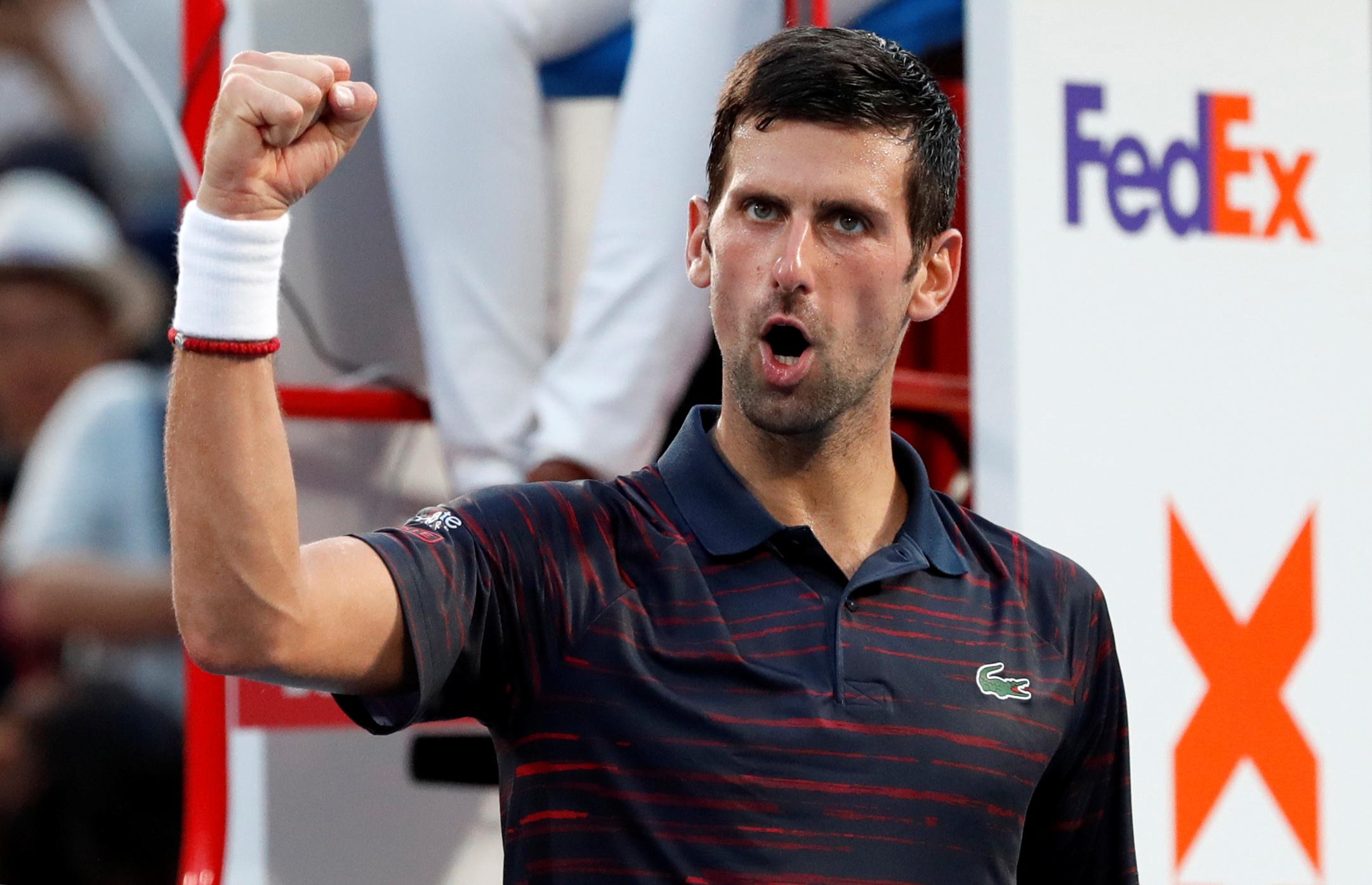 Tennis - ATP - Novak Djokovic en finale à Tokyo
