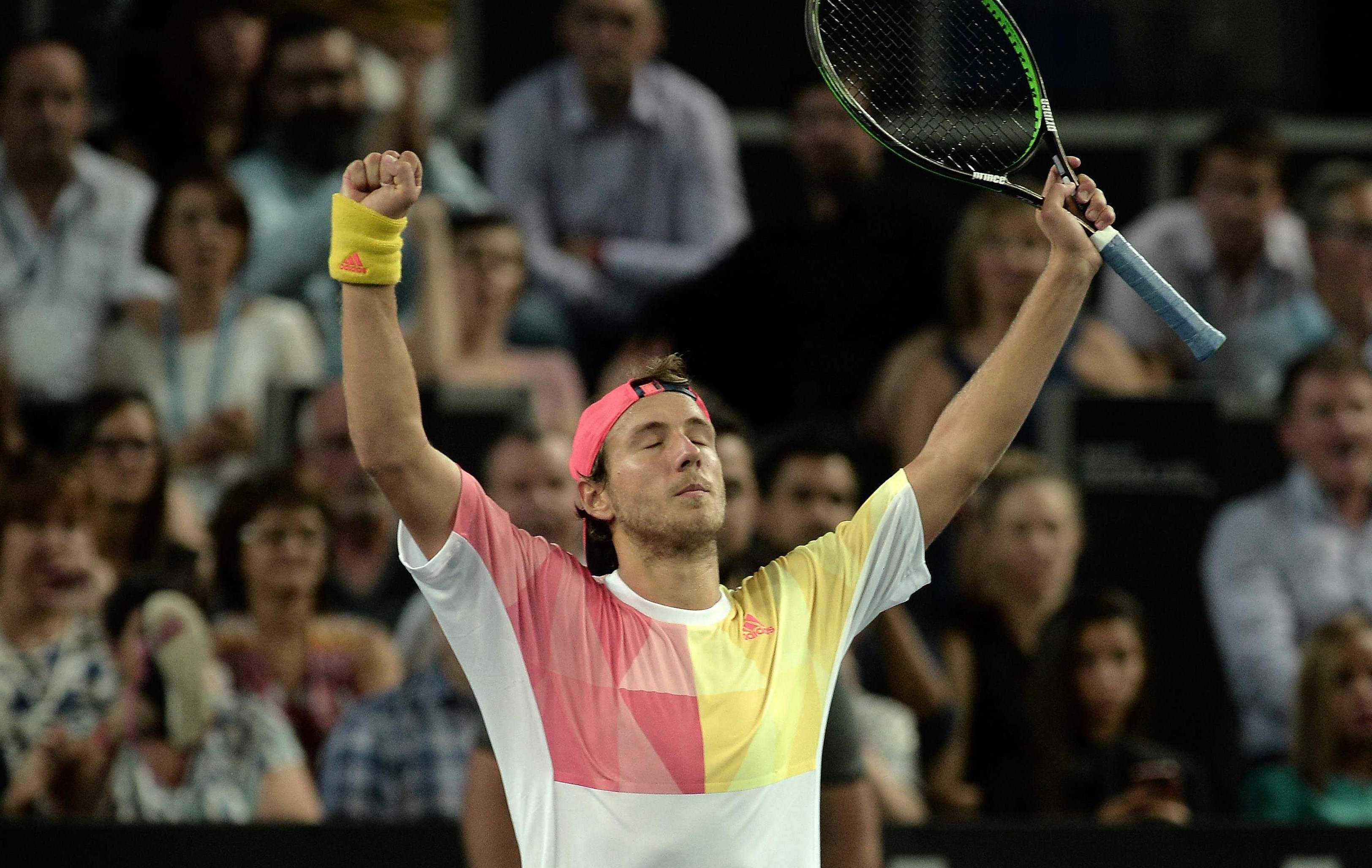 Tennis - ATP - Pouille : «Je suis un homme heureux»