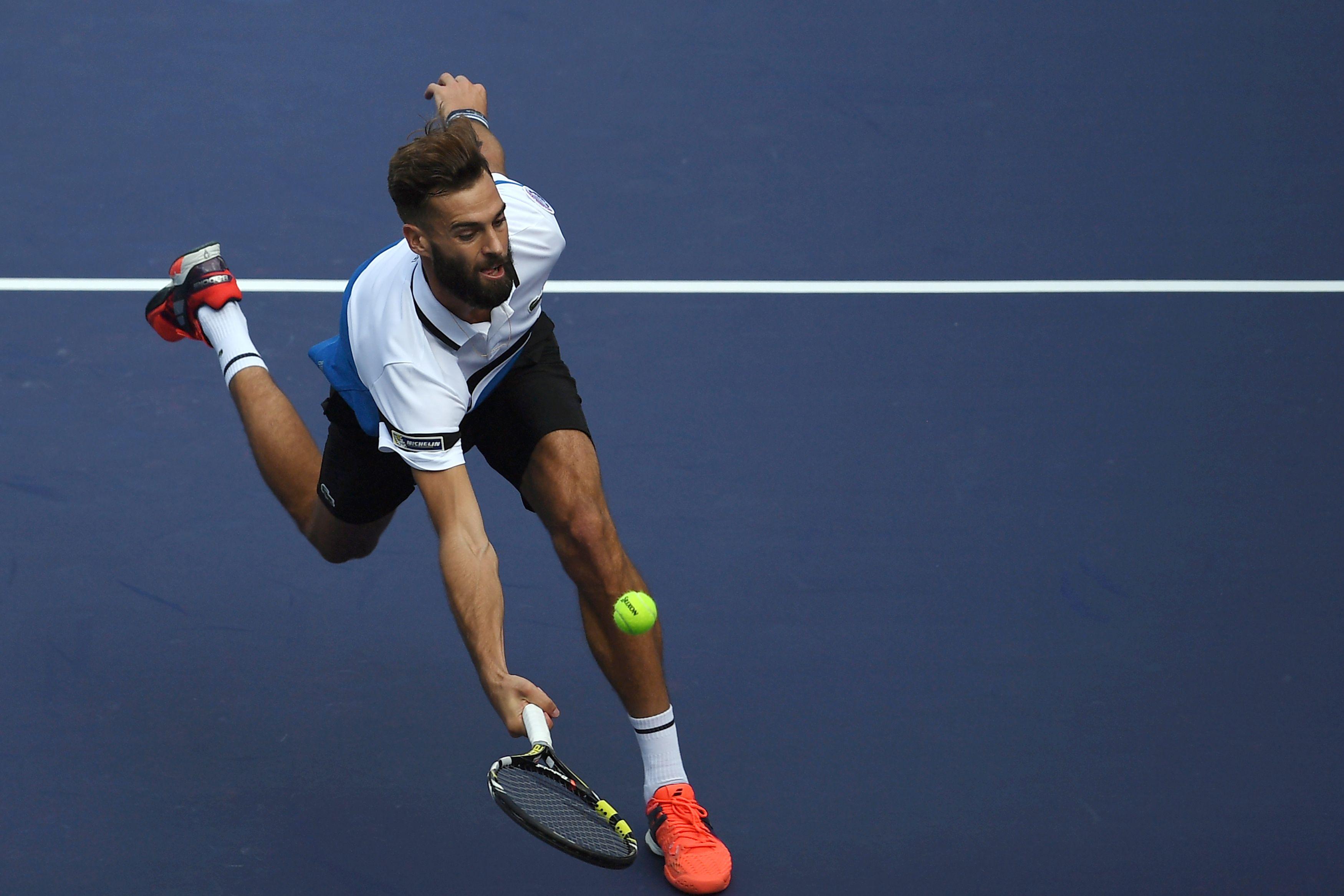 Tennis - ATP - Pour sa fin de saison, Paire veut «battre des mecs du Top 10»