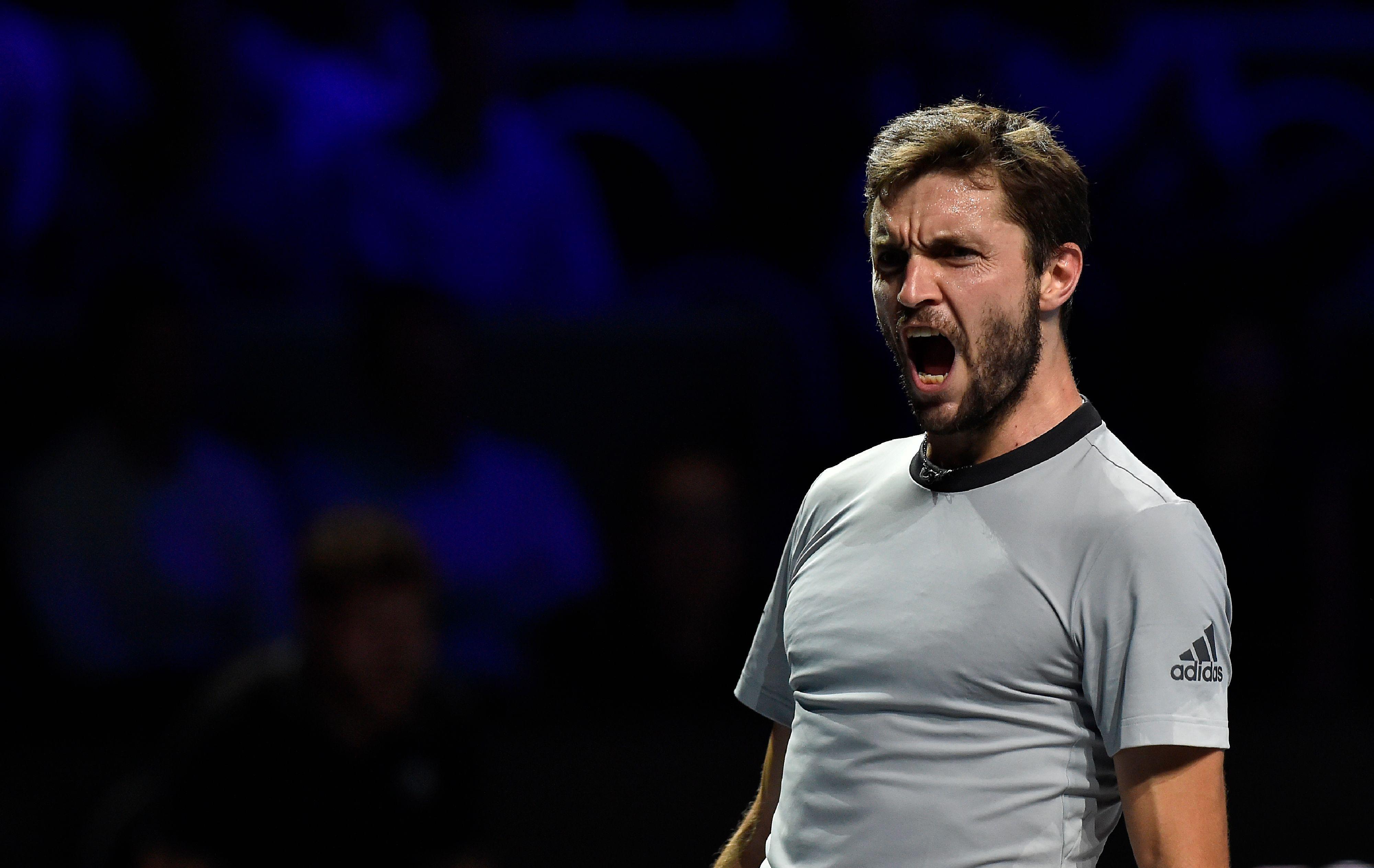Tennis - ATP - Vainqueur à Metz, Simon se rappelle au bon souvenir de Noah a64ee9b70103