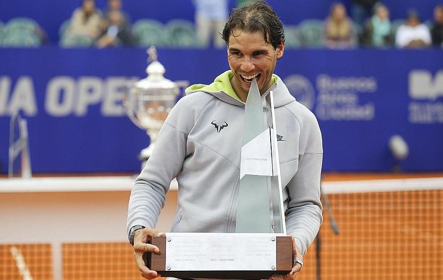 Tennis : ATP - </b>Titre, record et plein de confiance pour Nadal