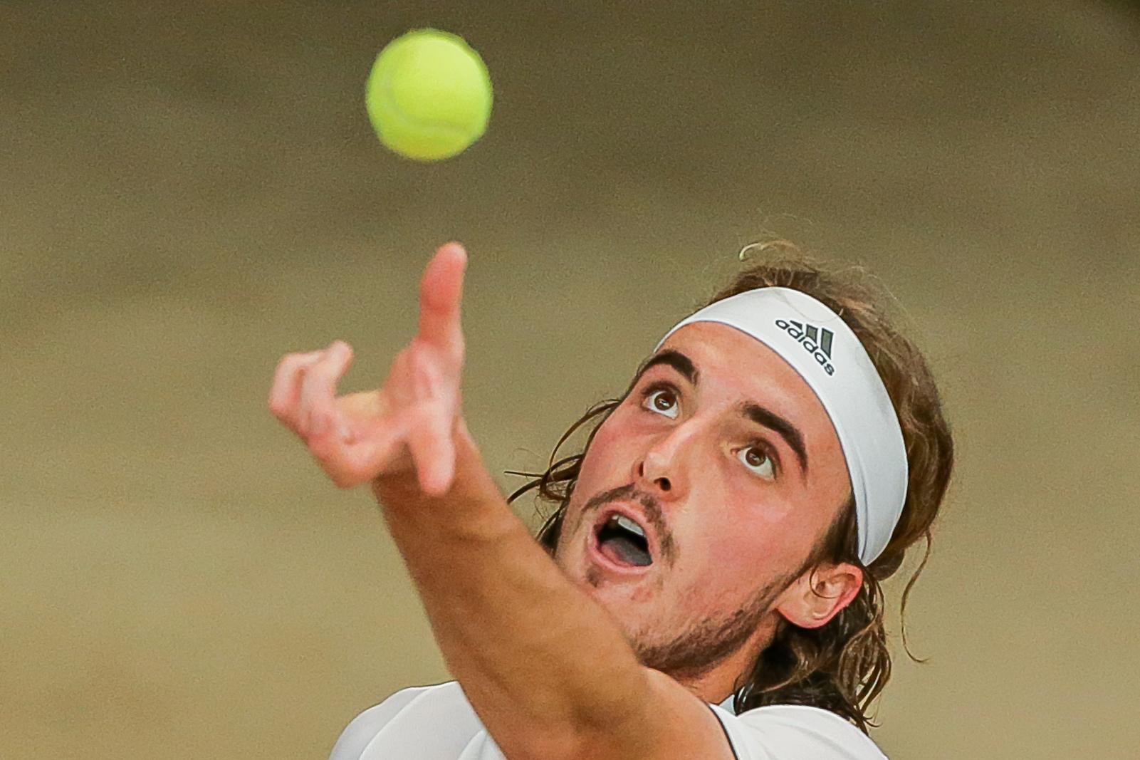 Tennis - ATP - Tsitsipas : «Le confinement est bon pour la nature»