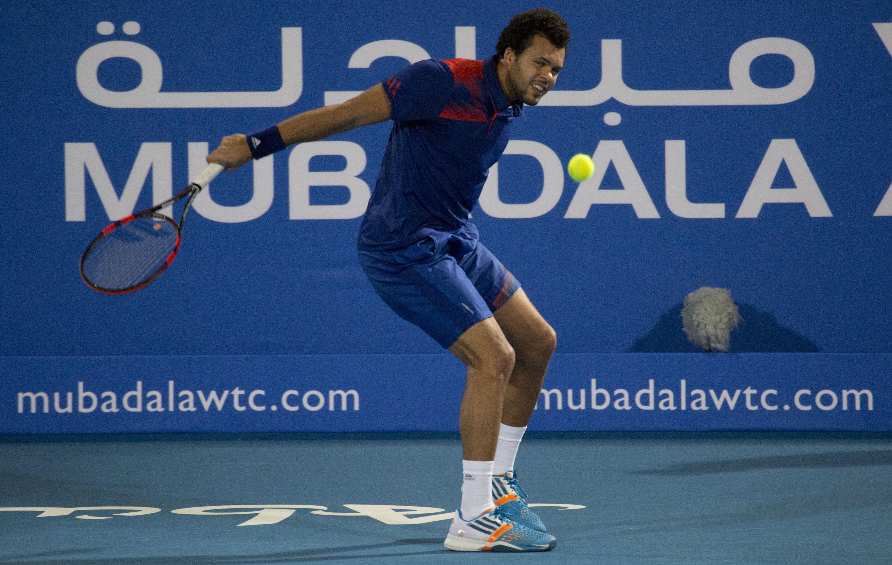 Tennis - ATP - Tsonga g�che le retour de Murray