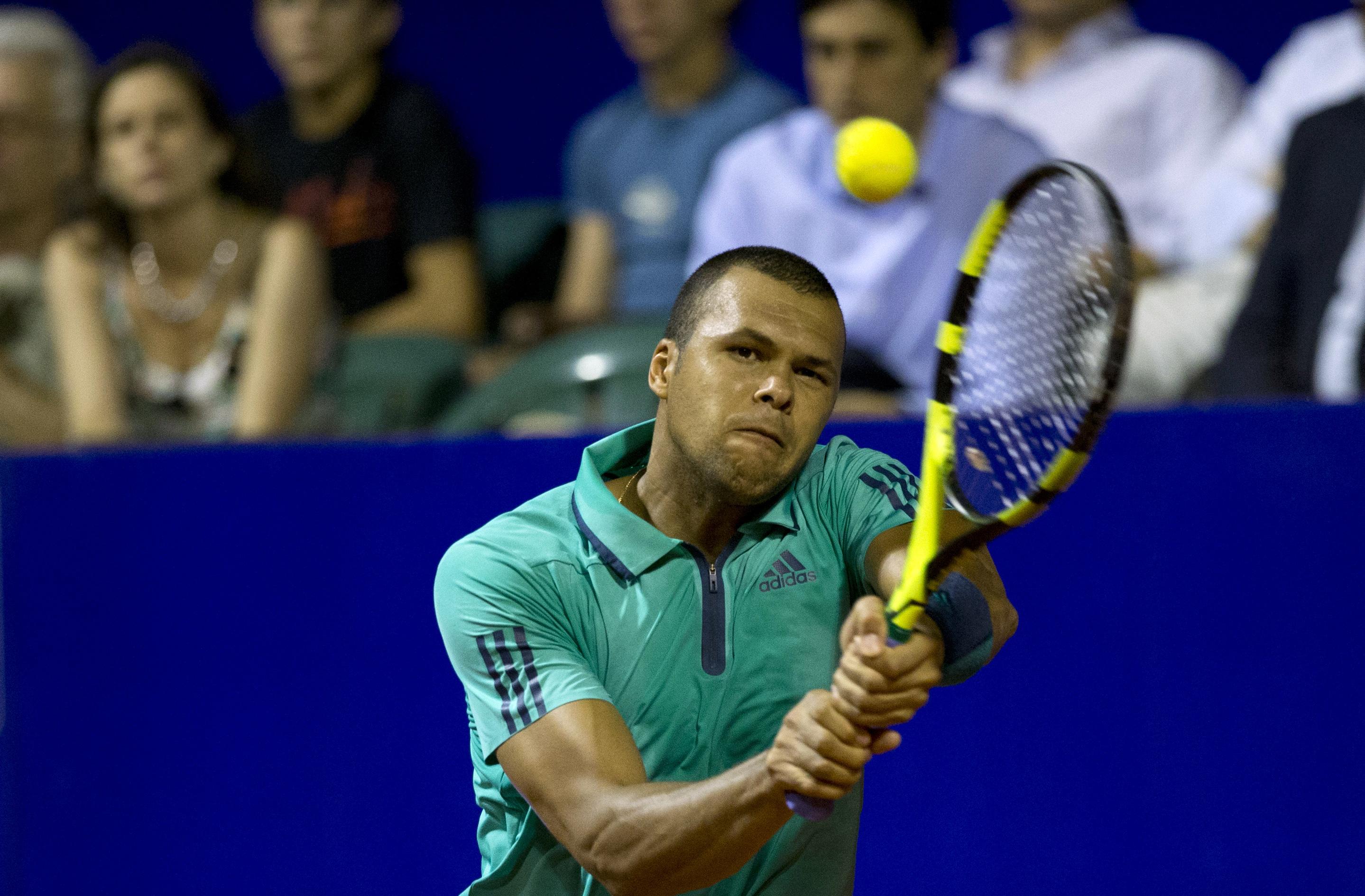 Tennis : ATP - Tsonga inqui�te avant la Coupe Davis