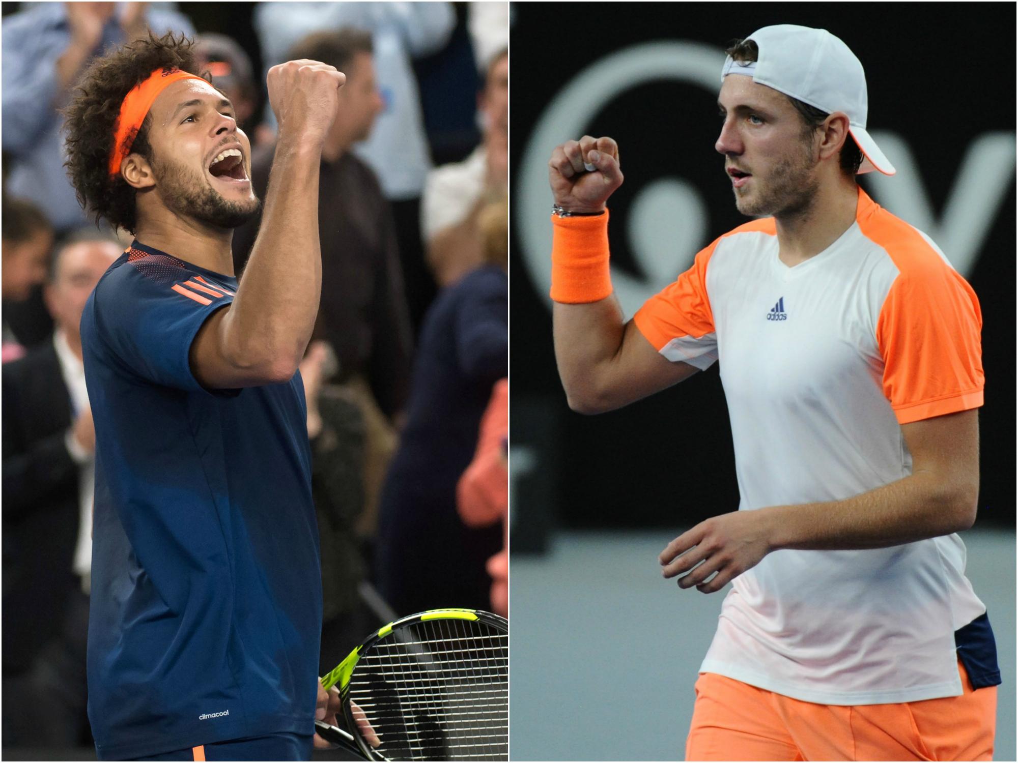 Tennis - ATP - Tsonga-Pouille, une finale 100% française à Marseille