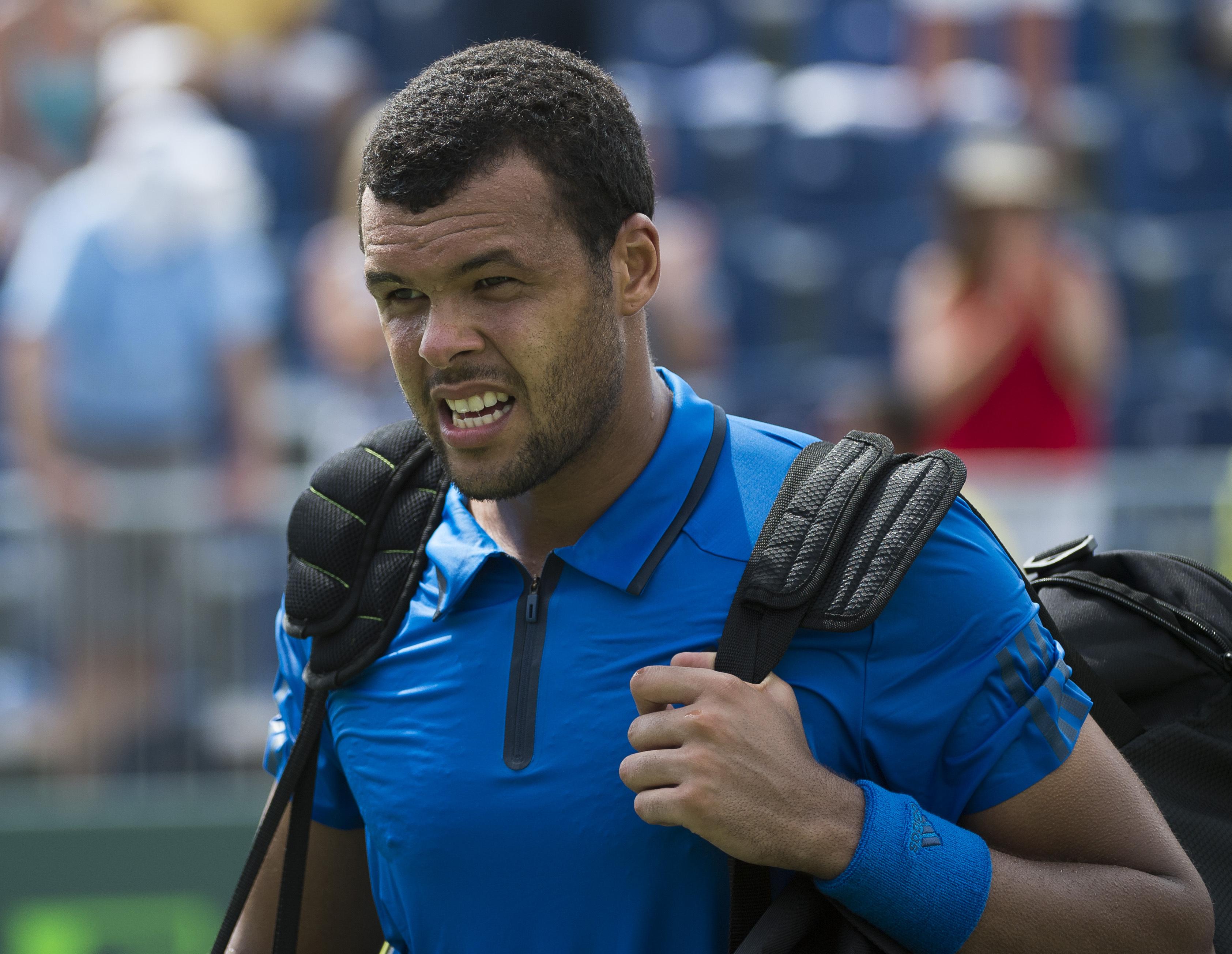 Tennis : ATP - Tsonga, un voile d?inqui�tude � moins de 15 jours de Roland-Garros