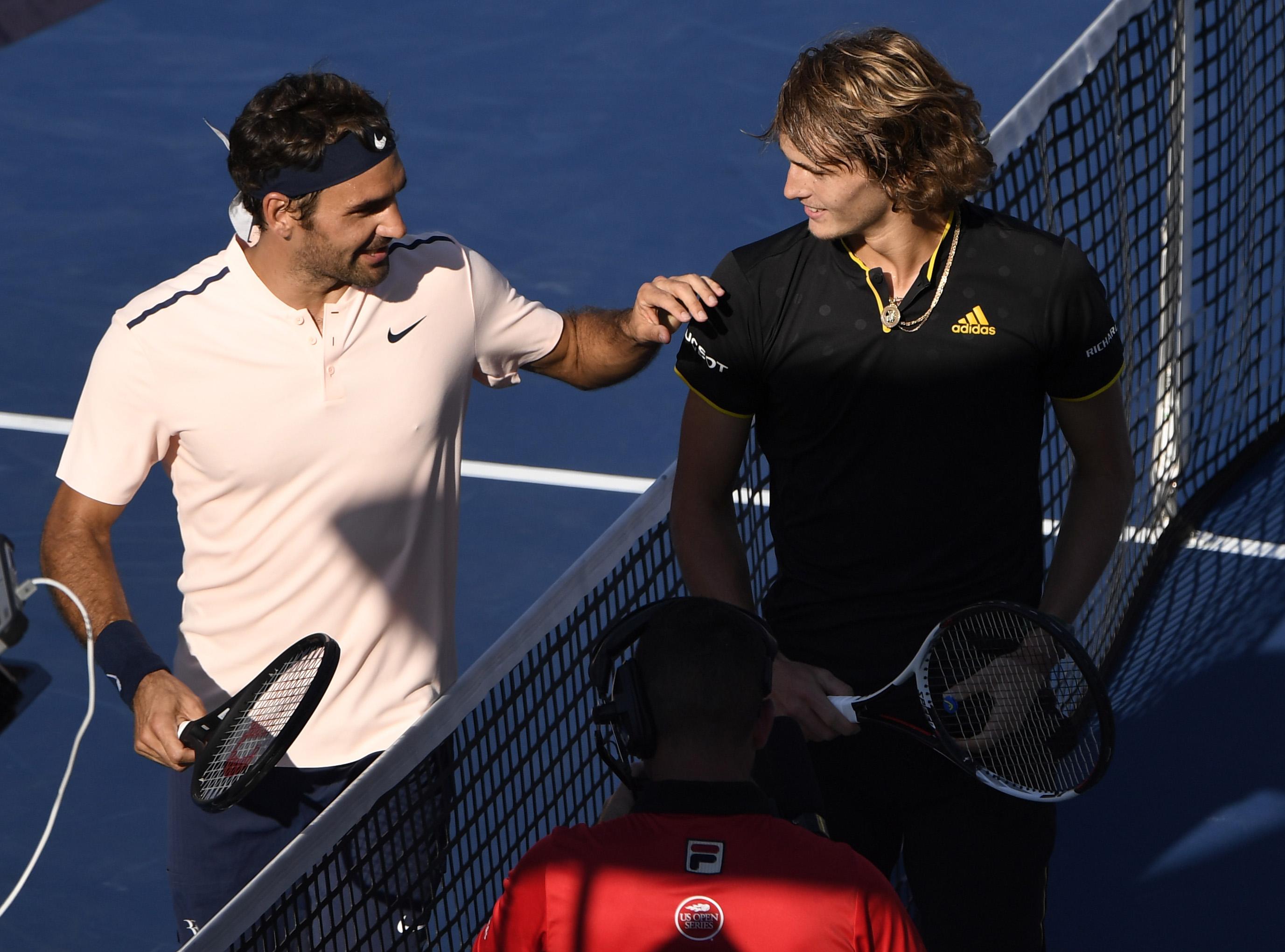 Tennis - ATP - Un Federer, diminué, tombe dans les griffes de Zverev