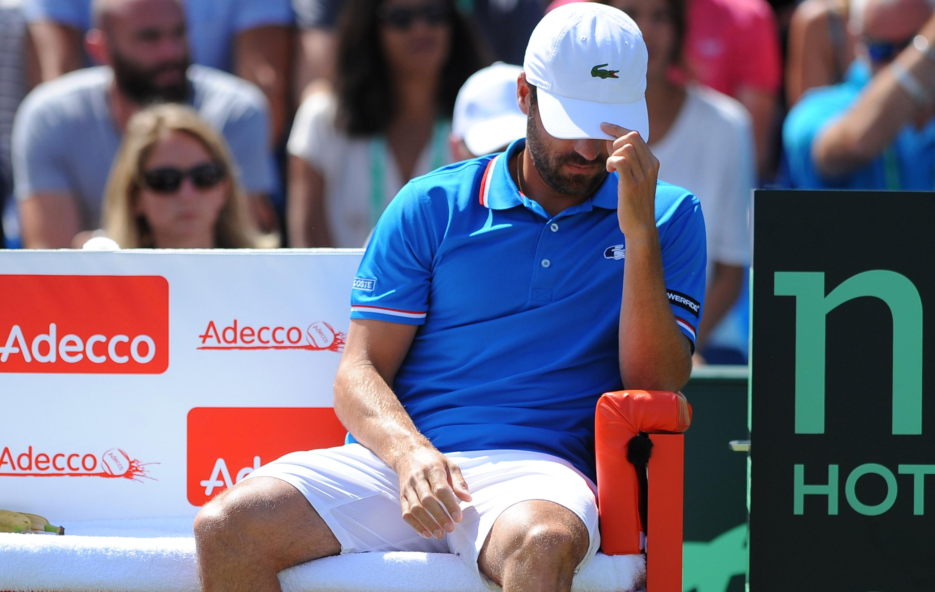 Tennis - Coupe Davis - Arnaud Cl�ment en questions