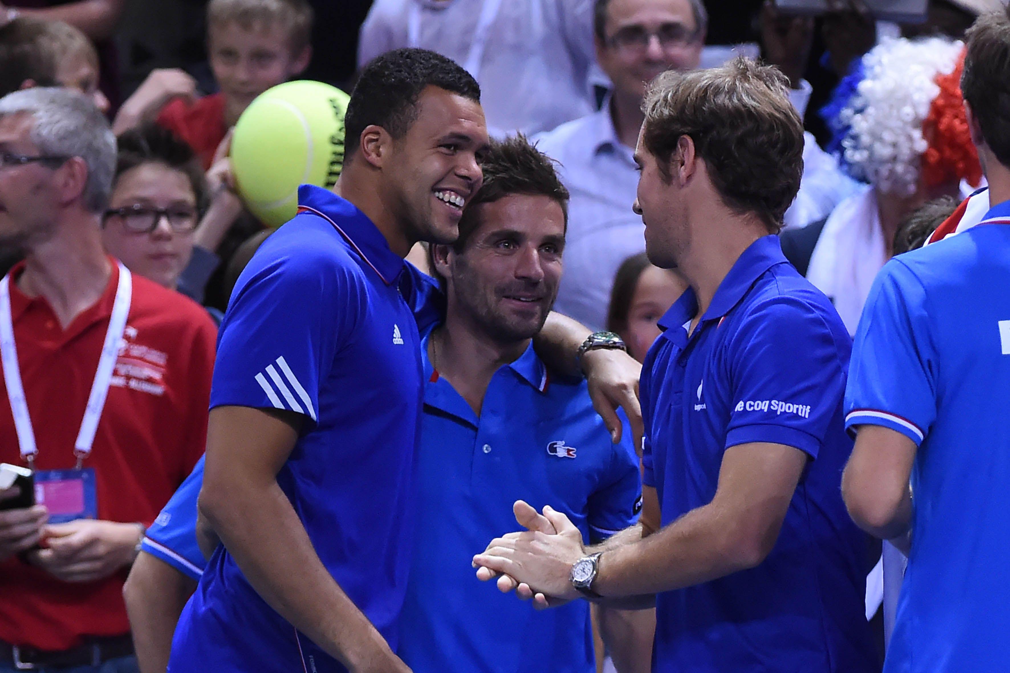 Tennis - Coupe Davis - Avec Tsonga et Monfils, Simon rempla�ant