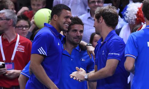 Avec Tsonga et Monfils, Simon remplaçant  - Coupe Davis - Tennis -