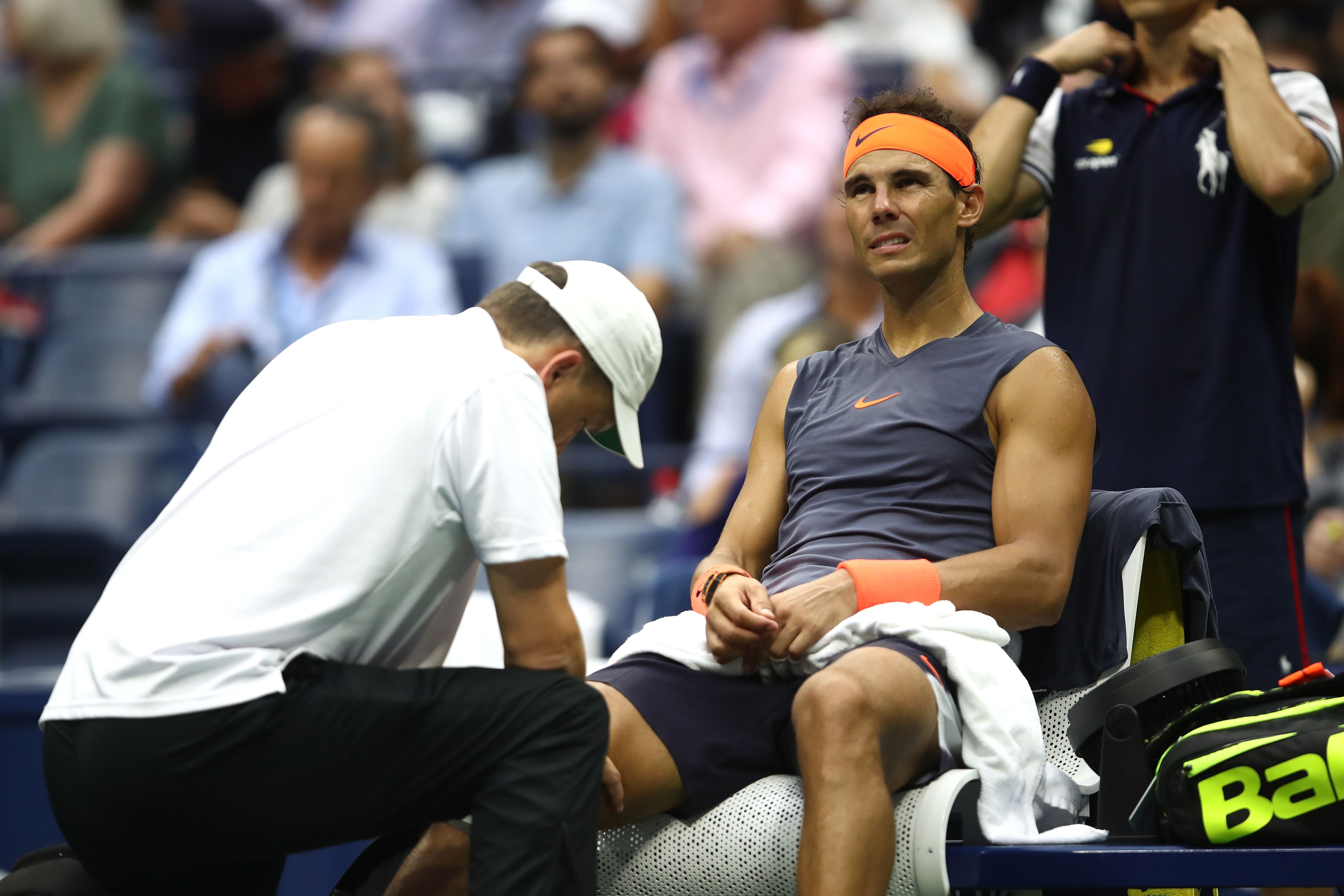 Tennis - Coupe Davis - Coupe Davis : blessé au genou droit, Nadal forfait contre la France