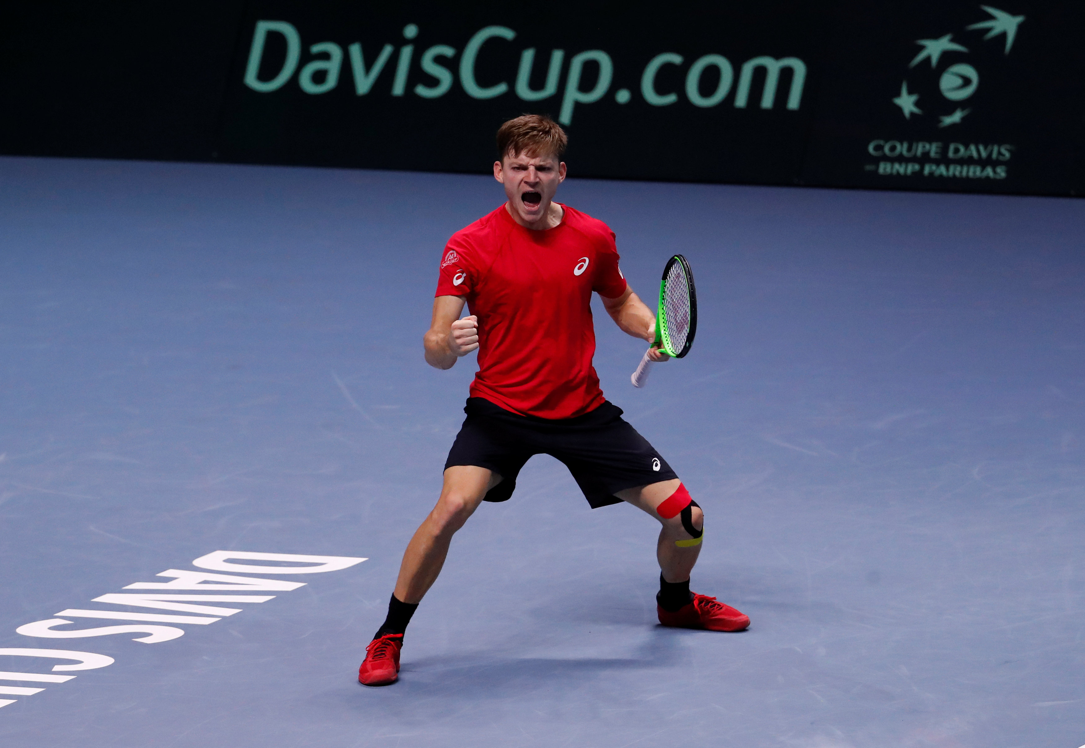 Tennis - Coupe Davis - Coupe Davis : Goffin croque Pouille et donne l'avantage à la Belgique