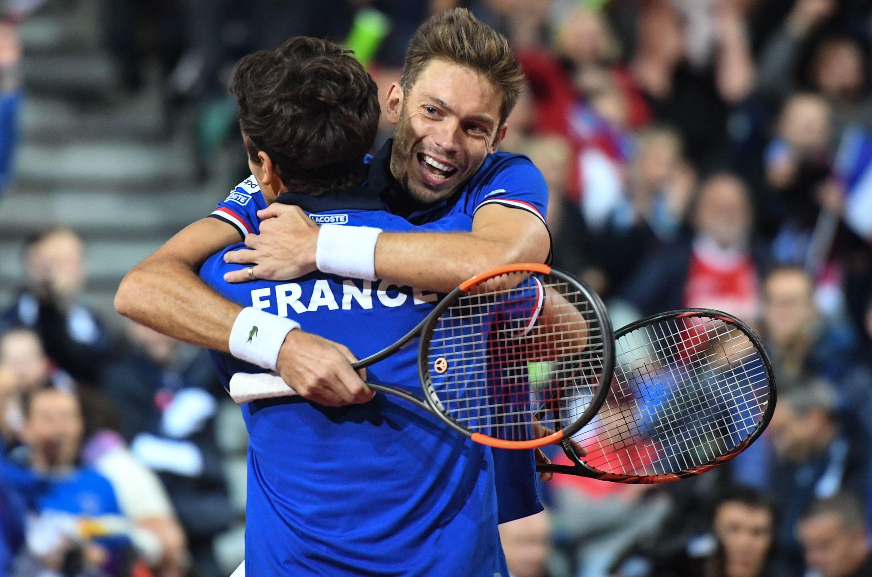 Tennis - Coupe Davis - Coupe Davis : Herbert et Mahut en balade, la France prend l'avantage