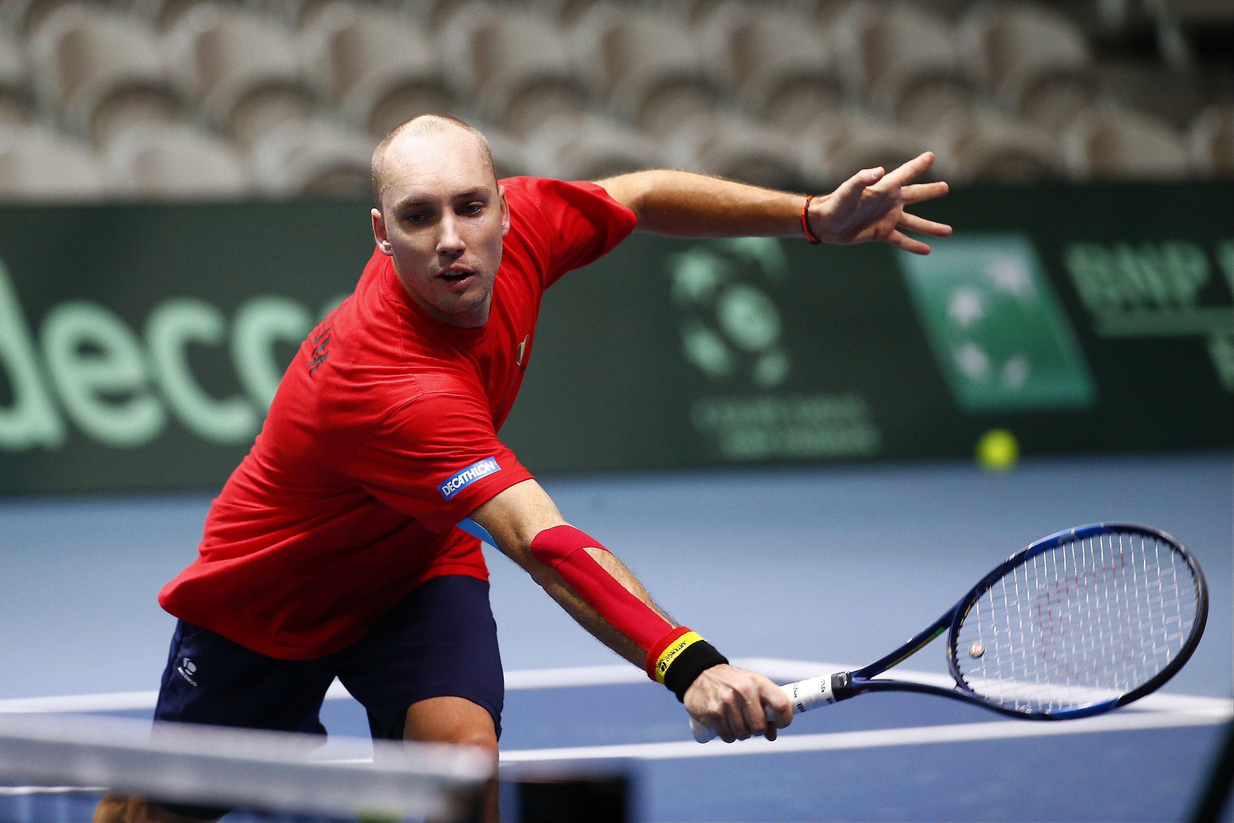 Tennis - Coupe Davis - Coupe Davis : la Belgique ne se résume pas qu'à Goffin