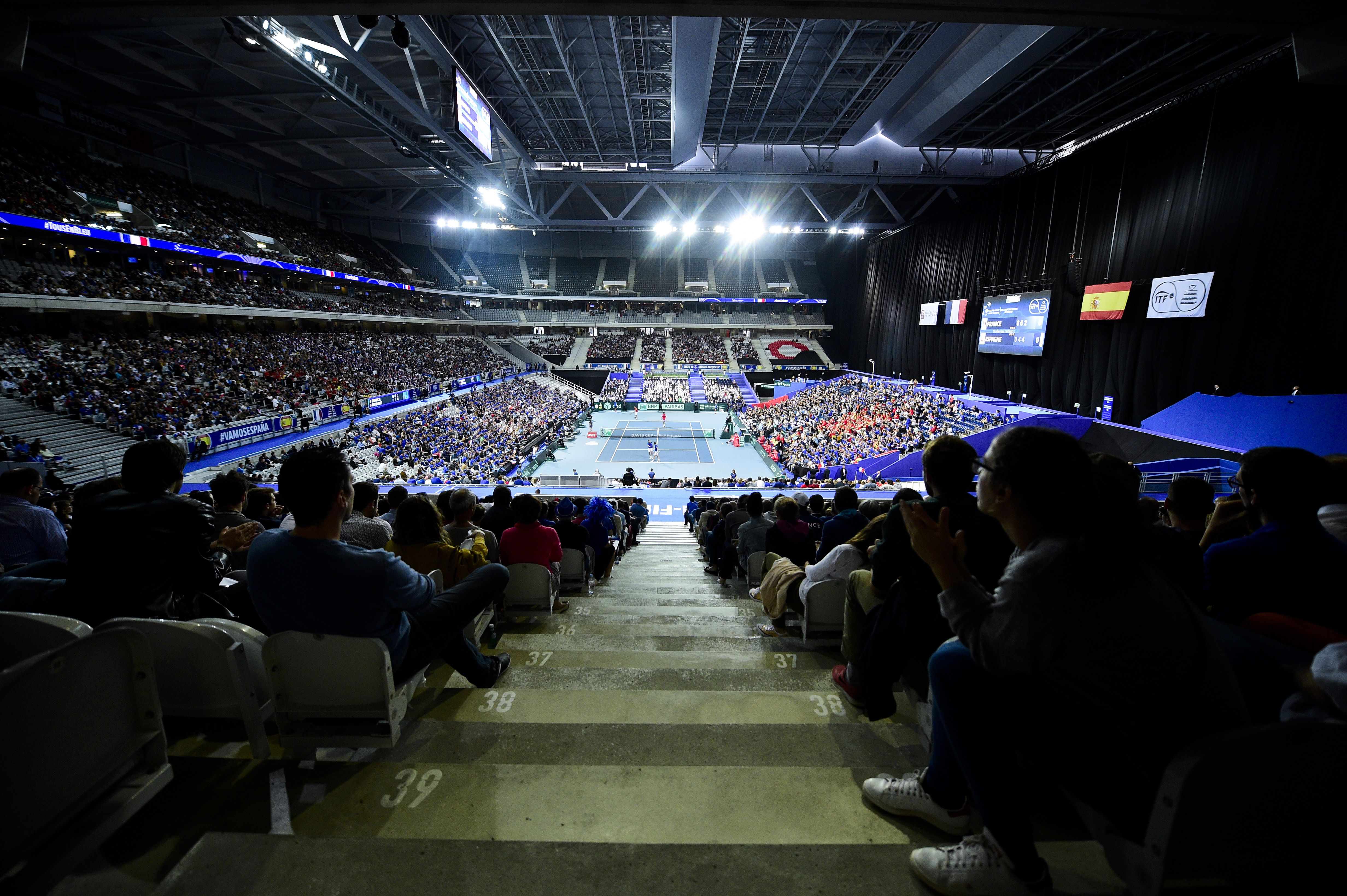 Tennis - Coupe Davis - Coupe Davis : la finale France-Croatie à Lille