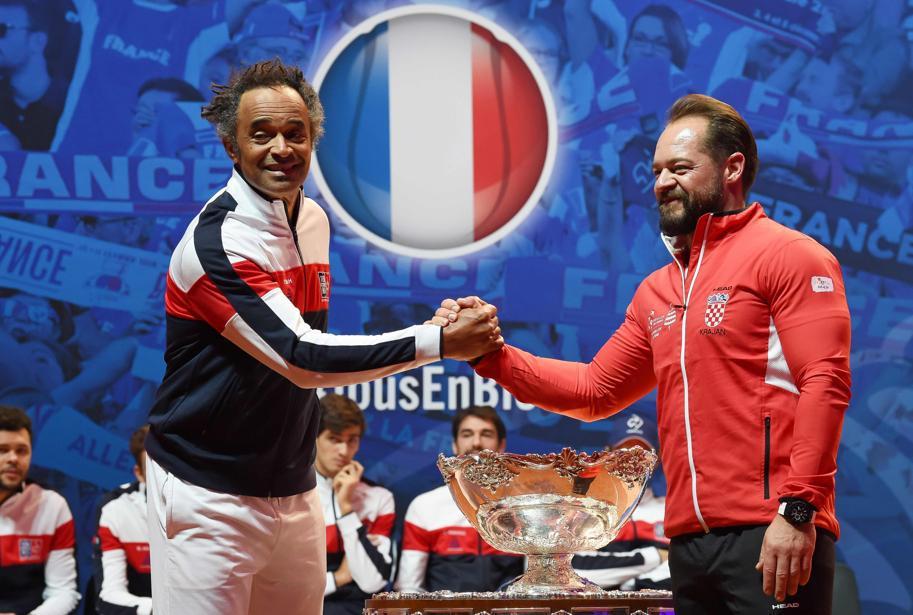 Tennis - Coupe Davis - Coupe Davis : les paris de Noah pour une dernière danse