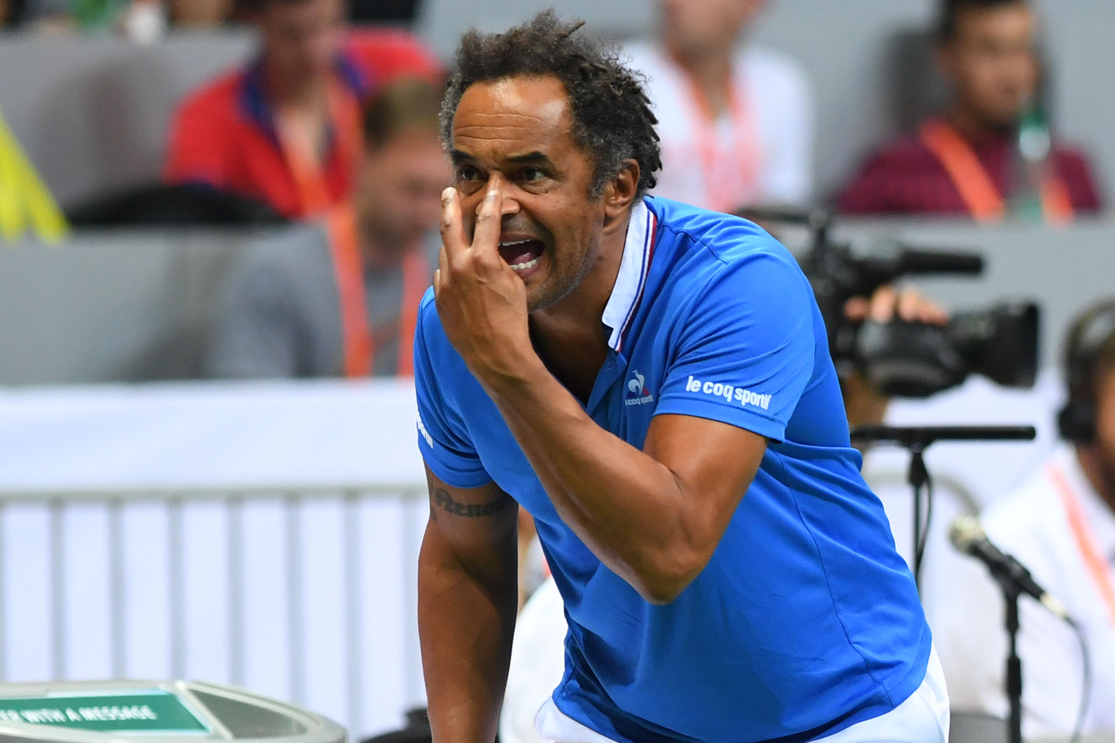 Tennis : Coupe Davis - Coupe Davis: Noah rempile (logiquement) avec les Bleus