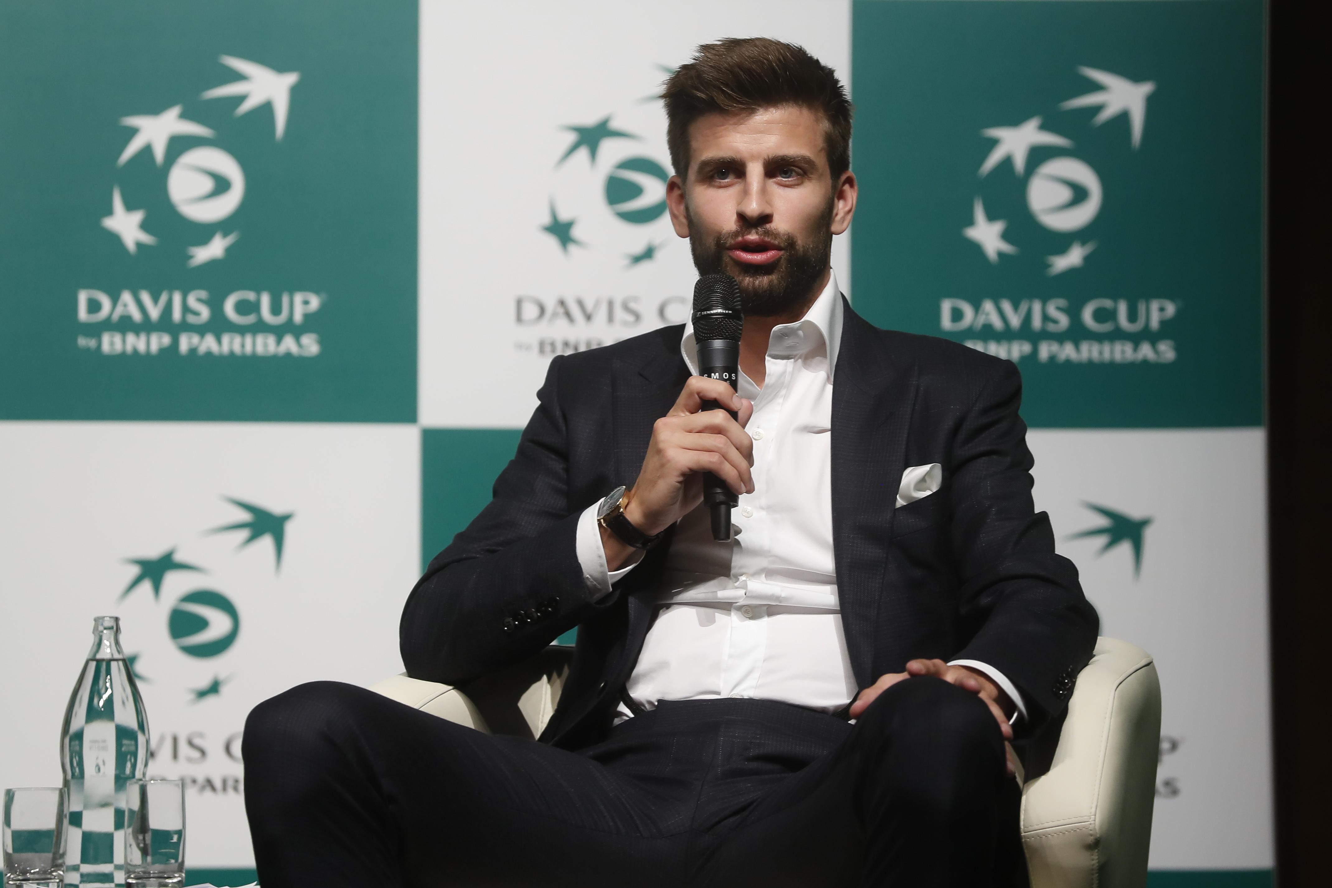 Tennis - Coupe Davis - Coupe Davis : Piqué «un peu pessimiste» pour la phase finale 2020