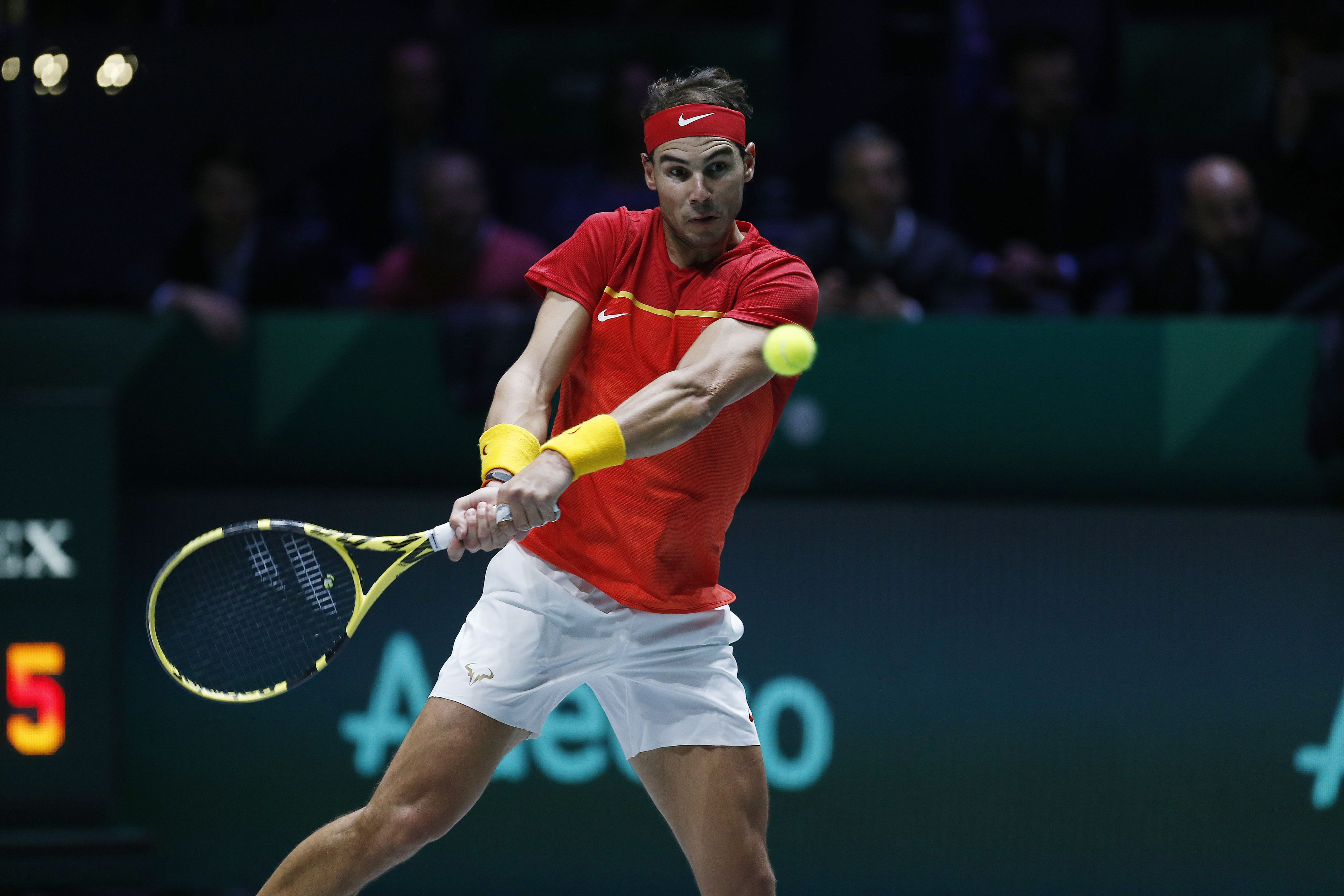 Tennis - Coupe Davis - Coupe Davis : Schwartzman-Nadal en direct