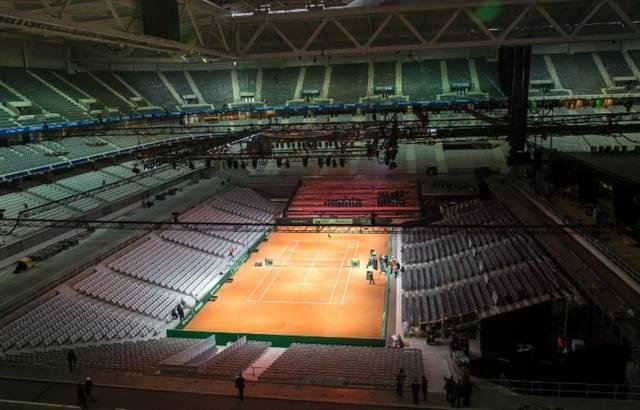 Tennis - Coupe Davis - Coupe Davis: une (belle) course contre la montre pour construire le court