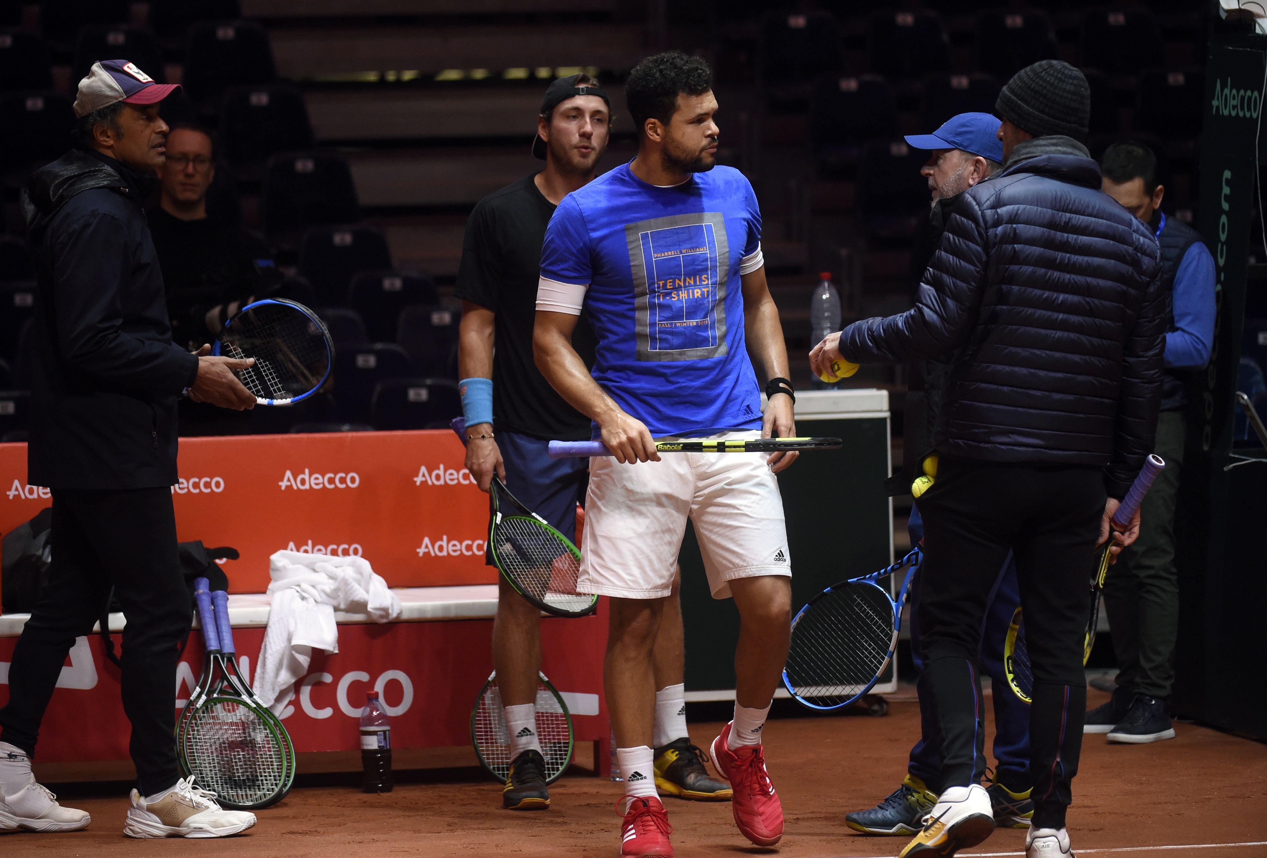 Tennis - Coupe Davis - Coupe Davis : Une sélection pas simple pour le simple