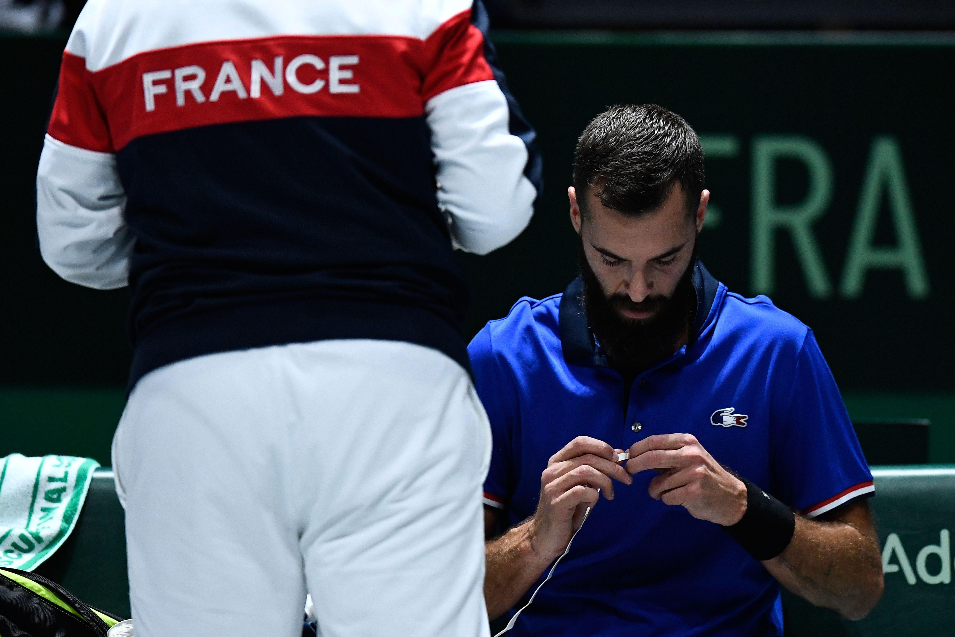 Tennis - Coupe Davis - Des bleus à l'âme pour les Français dans la nouvelle Coupe Davis