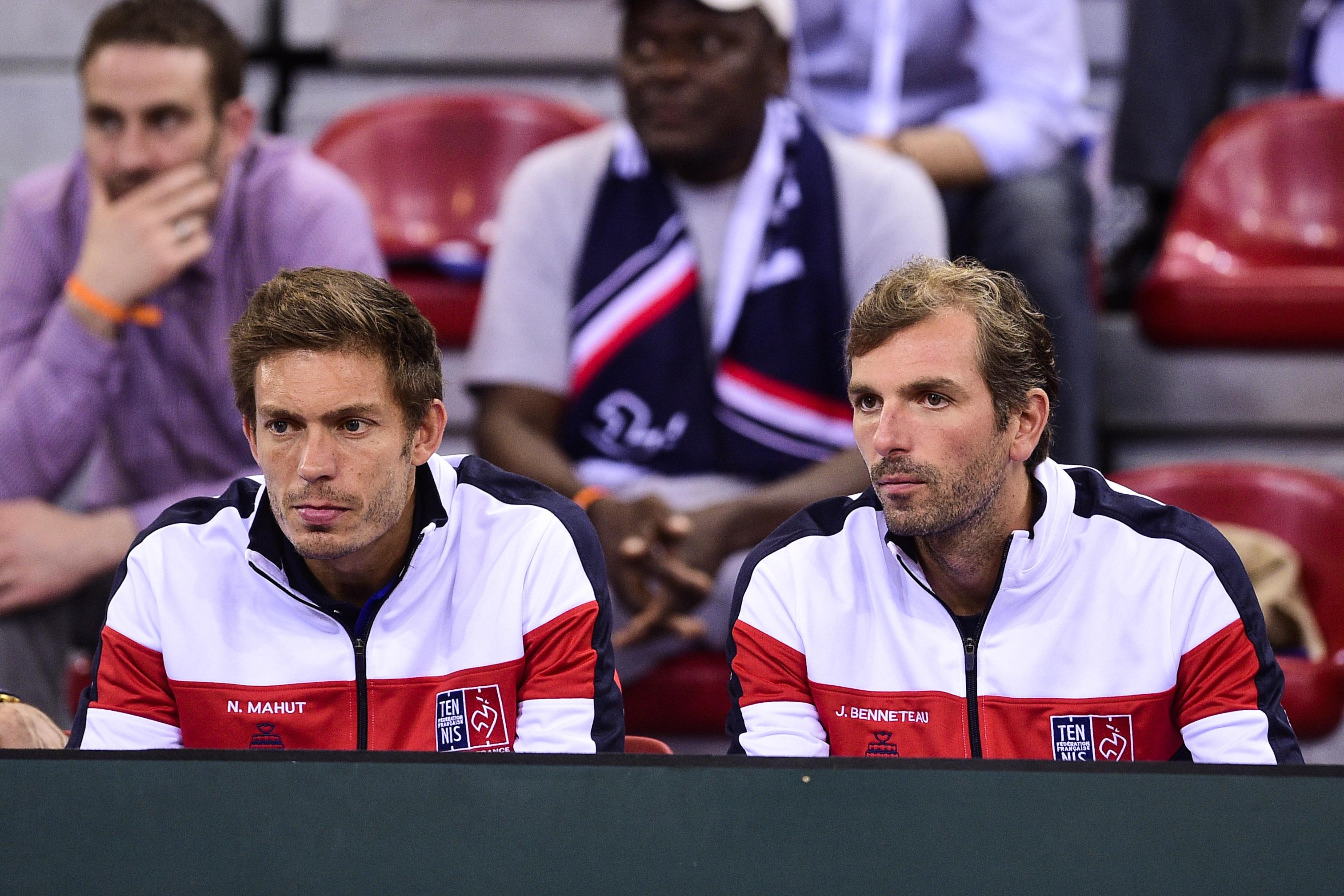 Tennis - Coupe Davis - Finale de Coupe Davis : vers une paire Mahut-Benneteau