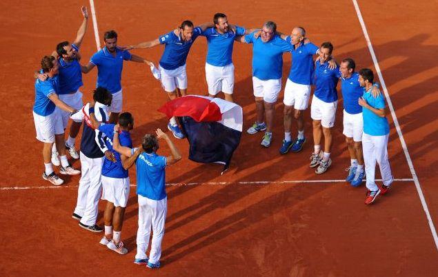 Tennis - Coupe Davis - France-Suisse, la terre pr�te � trembler