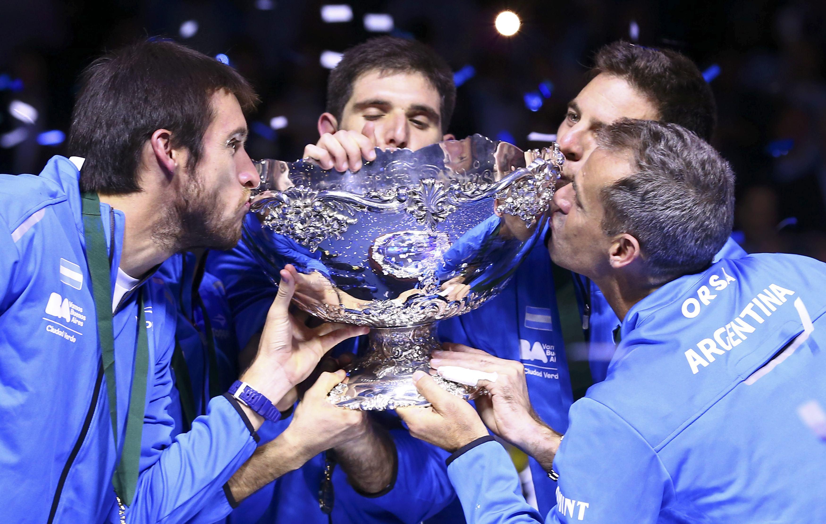 Tennis - Coupe Davis - Héroïque, l'Argentine remporte la Coupe Davis pour la première fois