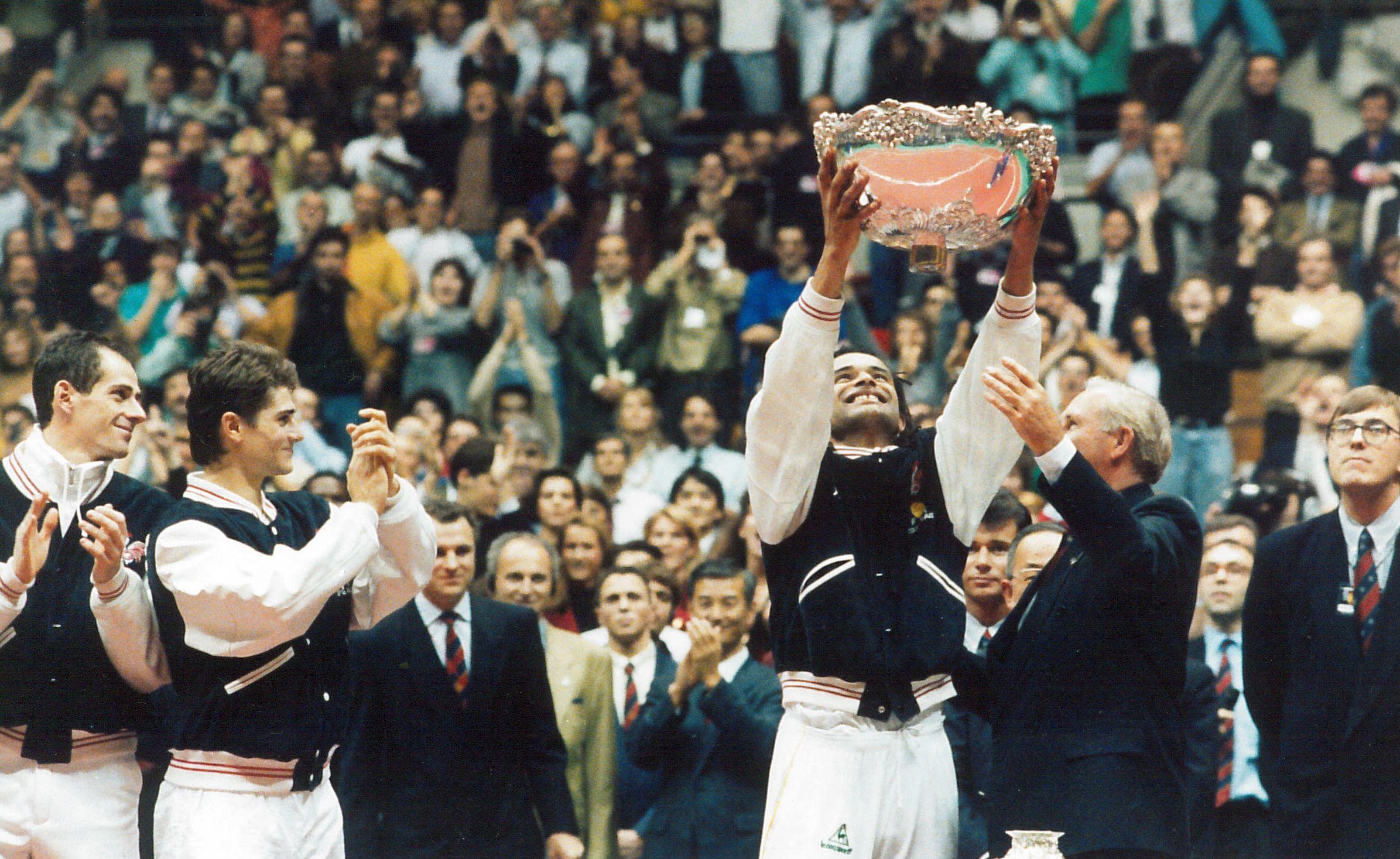 Tennis - Coupe Davis - La Coupe Davis,  une passion française