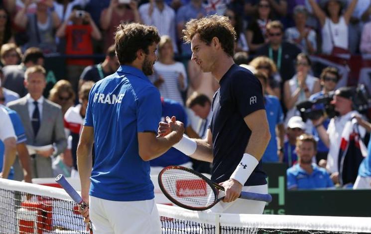 Tennis - Coupe Davis - La marche �tait encore trop haute pour les Bleus