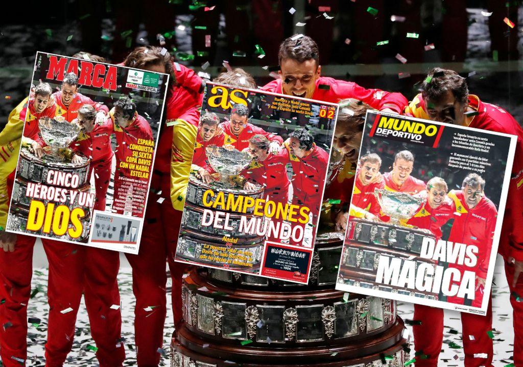Tennis - Coupe Davis - Coupe Davis : La presse espagnole célèbre son «dieu» Nadal