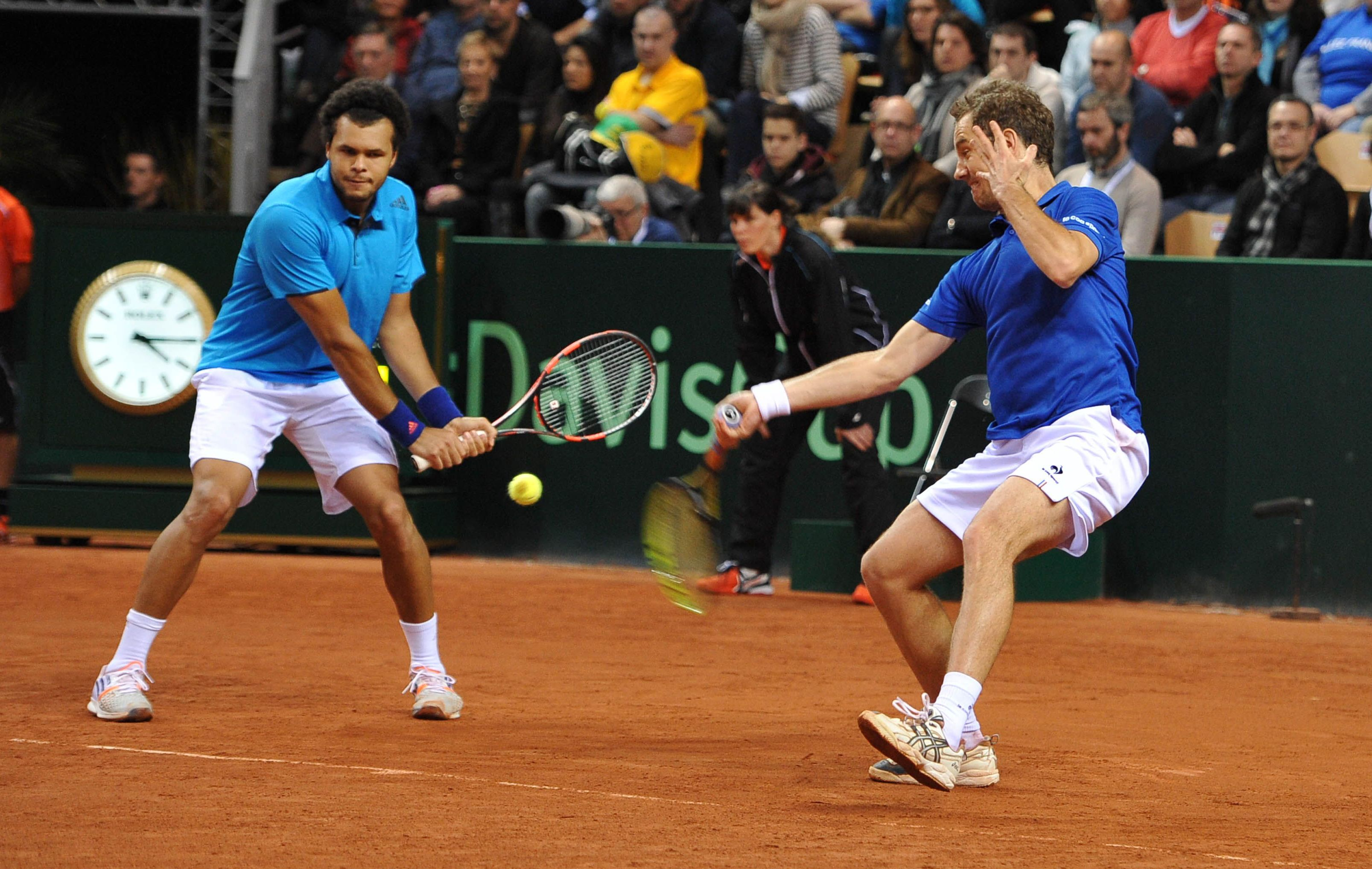 Tennis - Coupe Davis - La tentation Gasquet/Tsonga en double